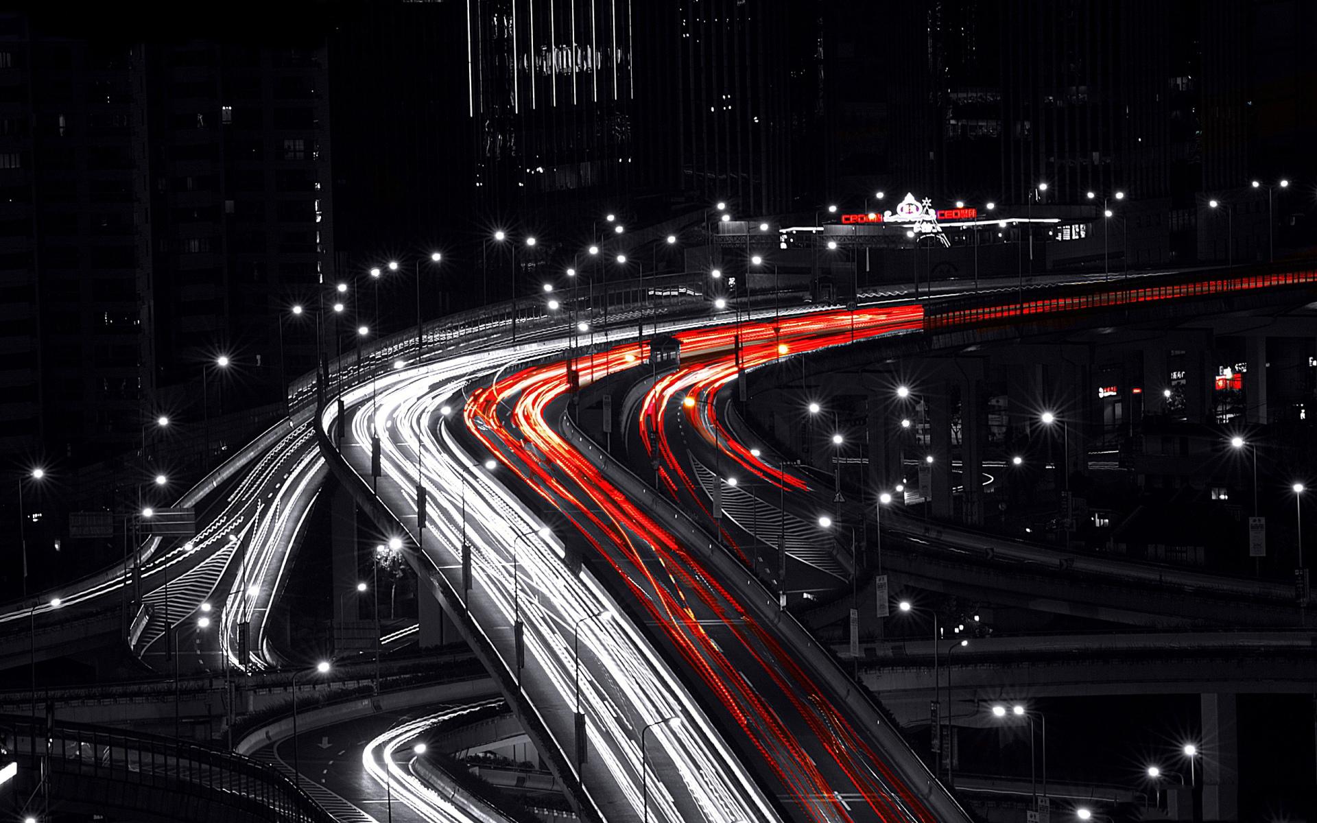 Shanghai City Night