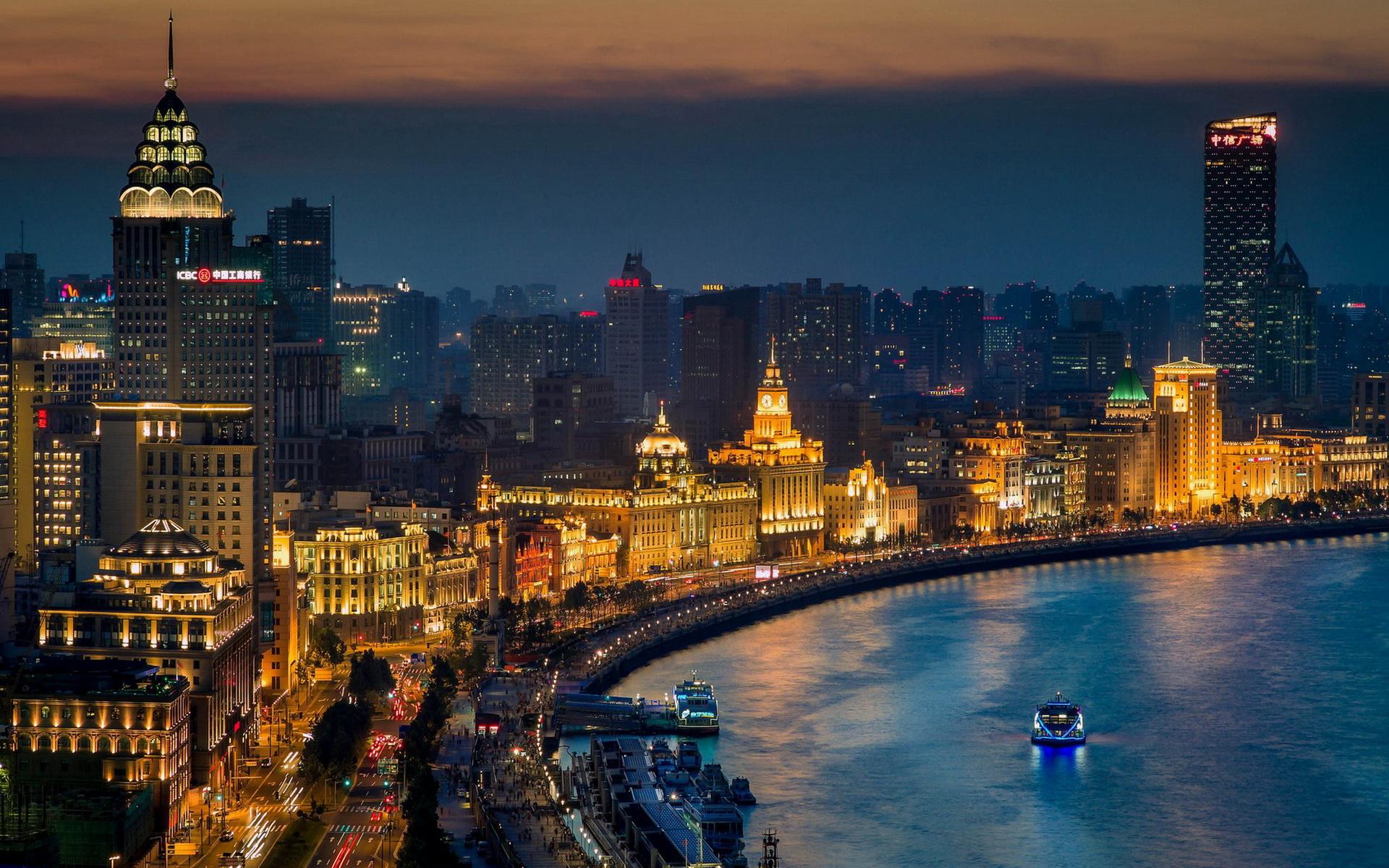 HD Wallpaper | Background ID:435639. 1920x1200 Man Made Shanghai