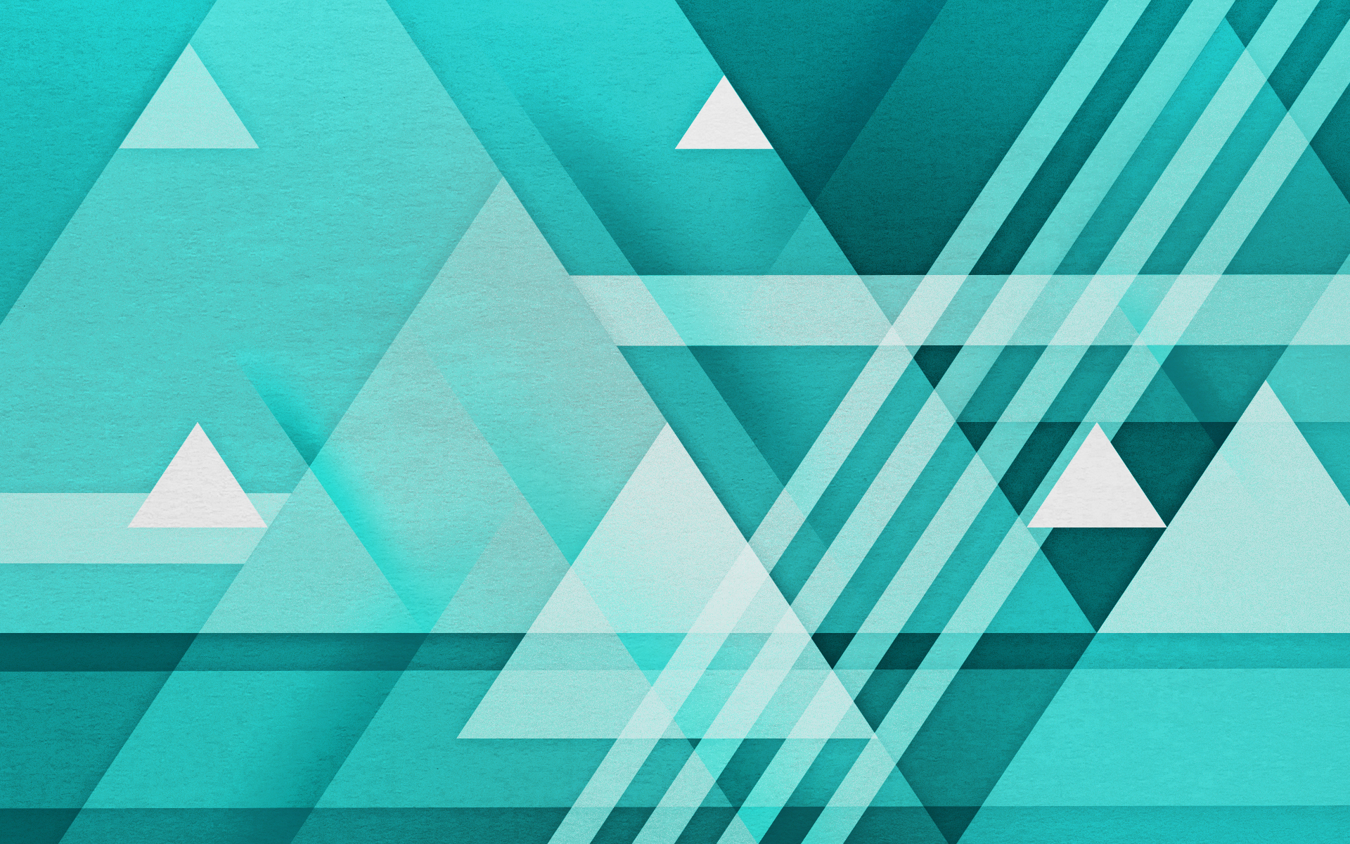 Abstract Shapes Wallpaper
