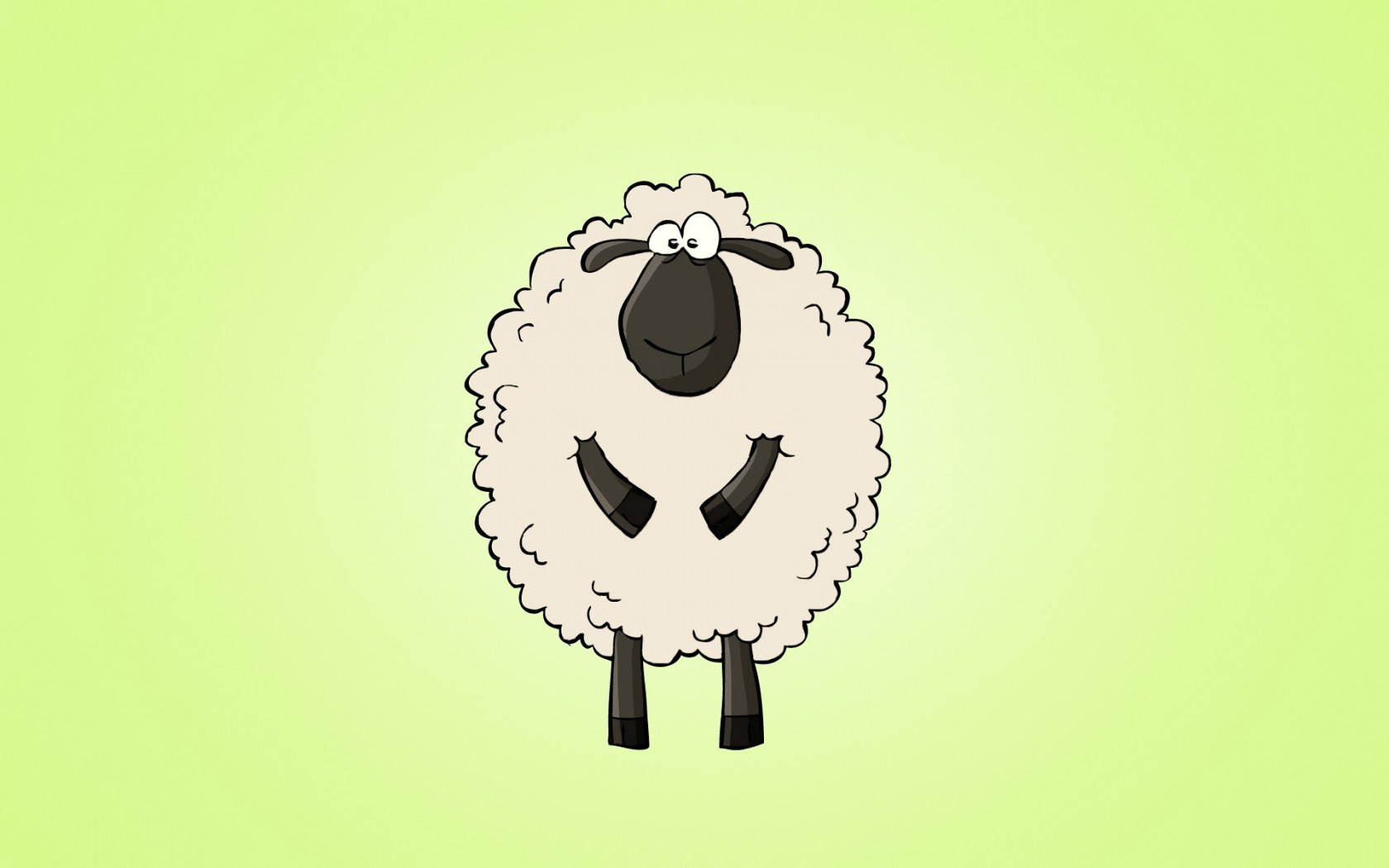 Sheep Art Cartoon