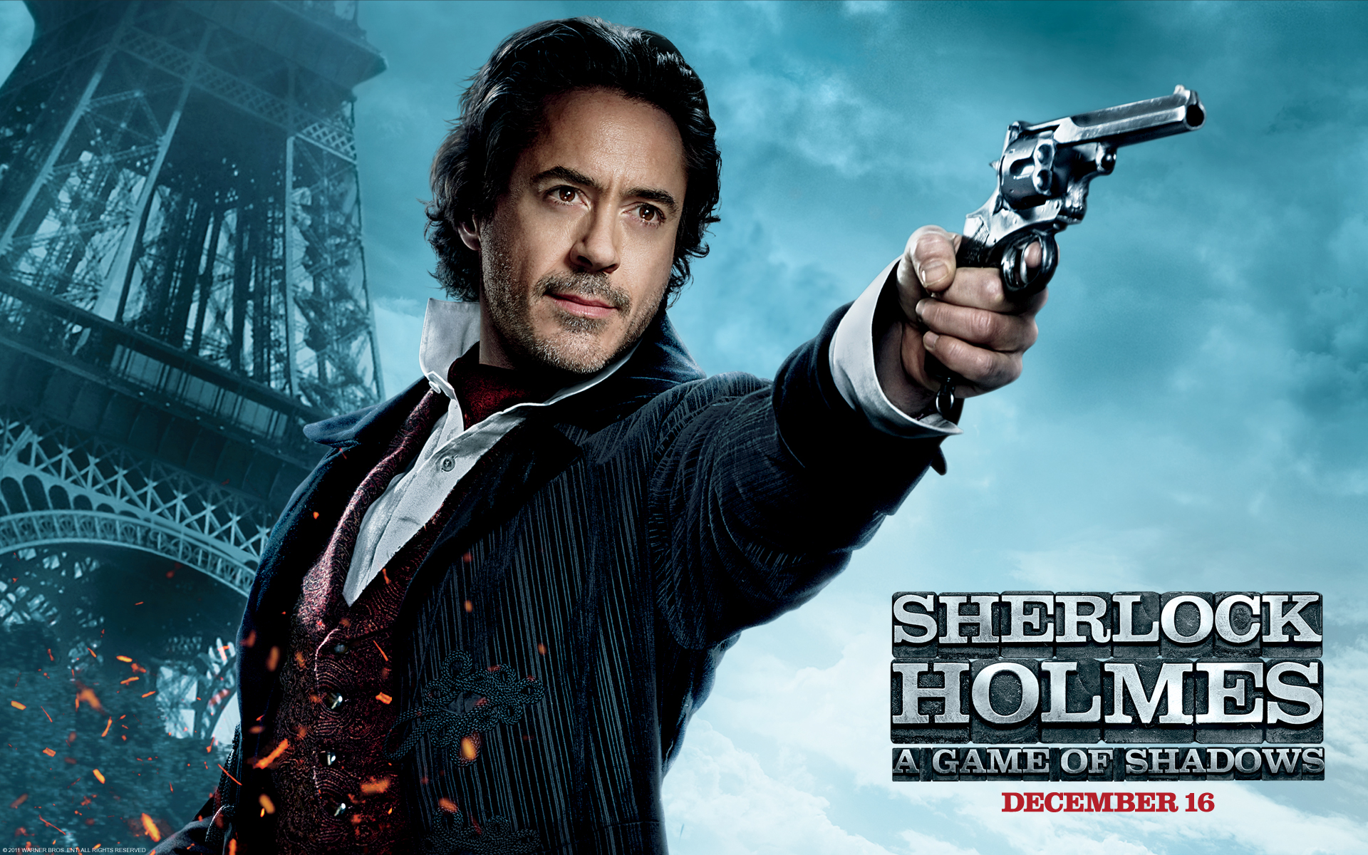 How many of you watched this movie of Sherlock Holmes?