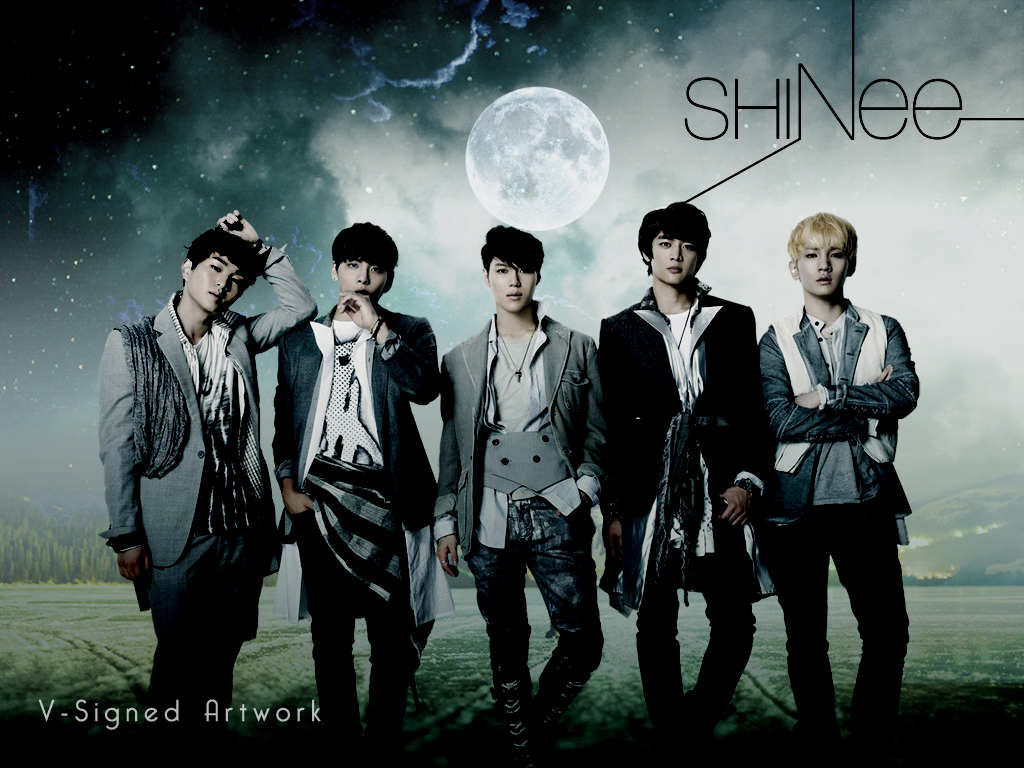 SHINee Wallpaper by V-Signed by v-signed ...