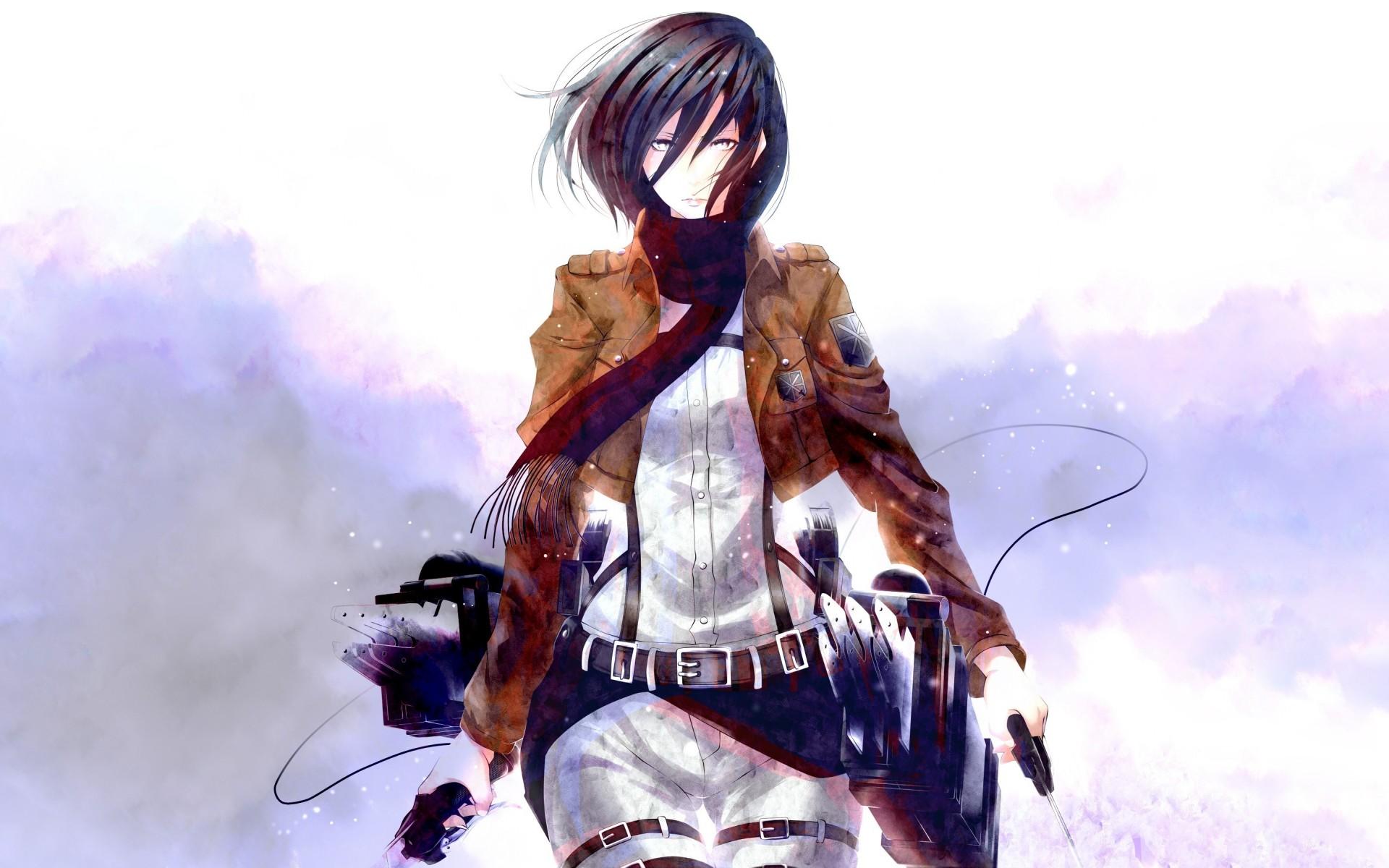 Shingeki No Kyojin Mikasa