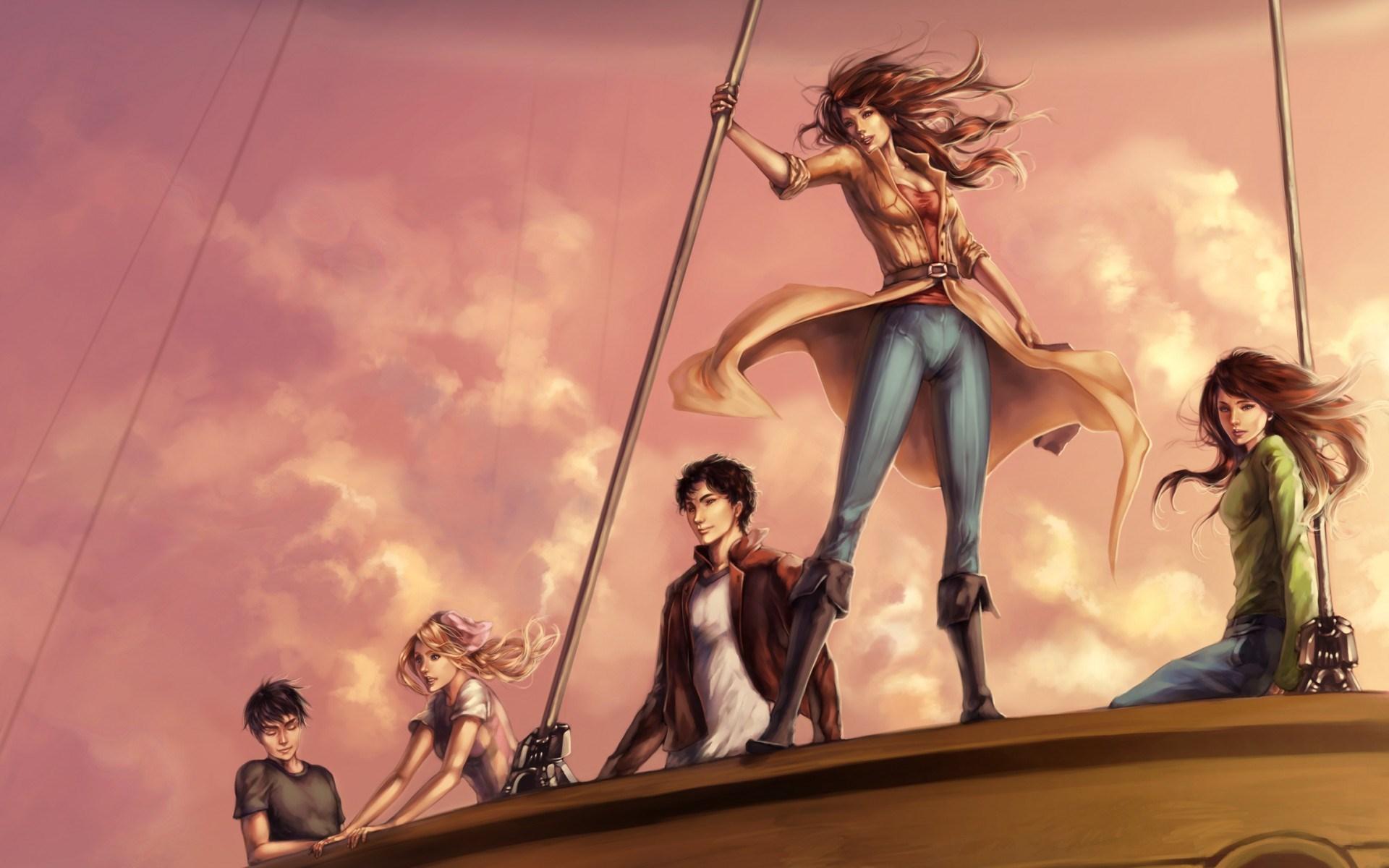 Ship Girls Boys Anime Art