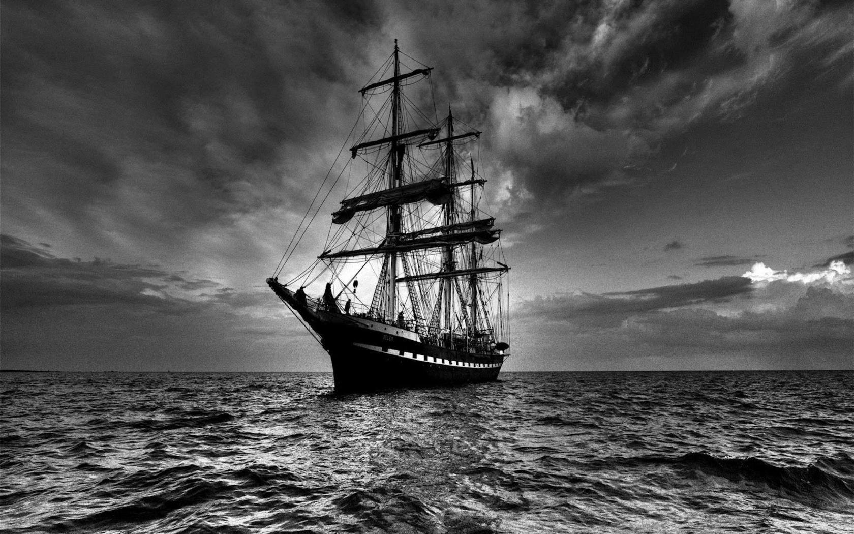 Dark Wallpaper 275 Sailing Ship Art Photos Backgrounds