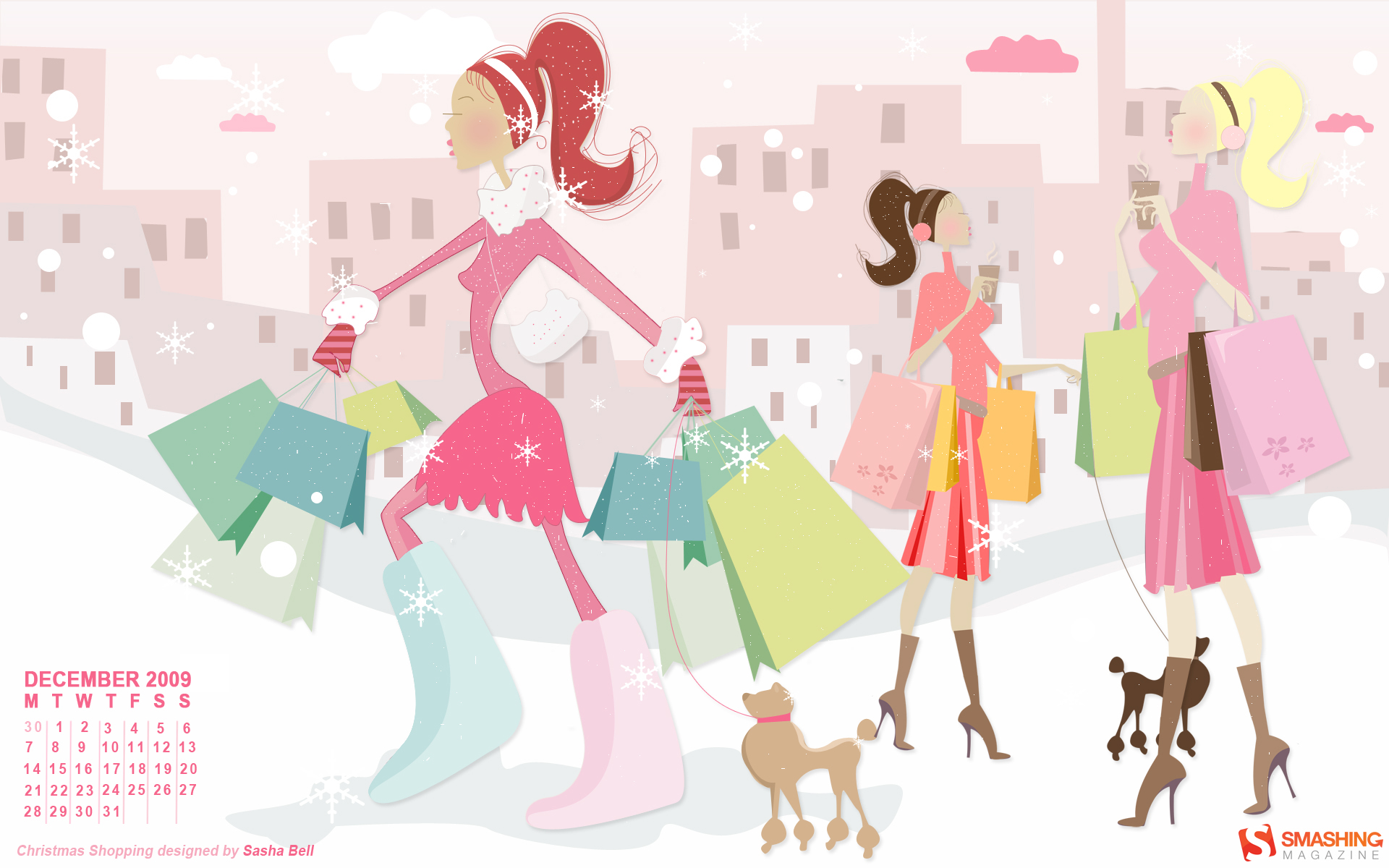 Shopping Wallpaper