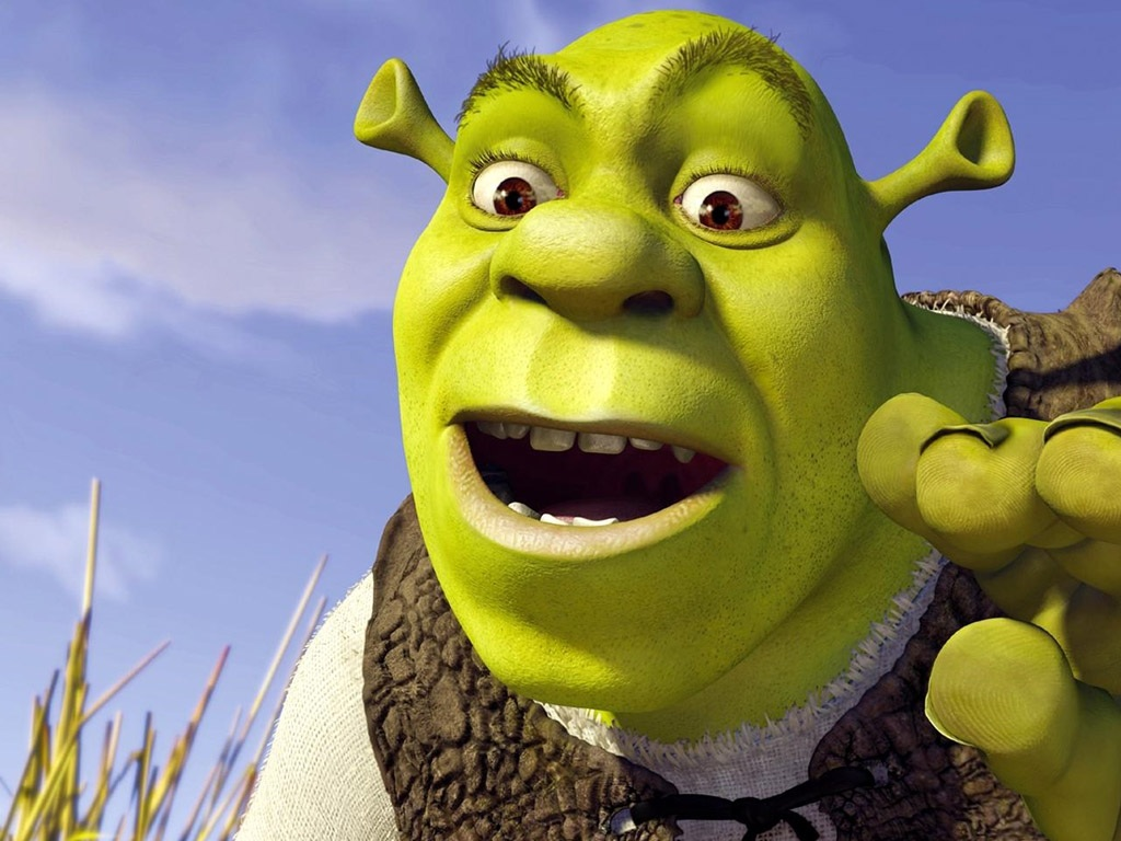 """Shrek"" desktop wallpaper number 1 (1024 x 768 pixels)"