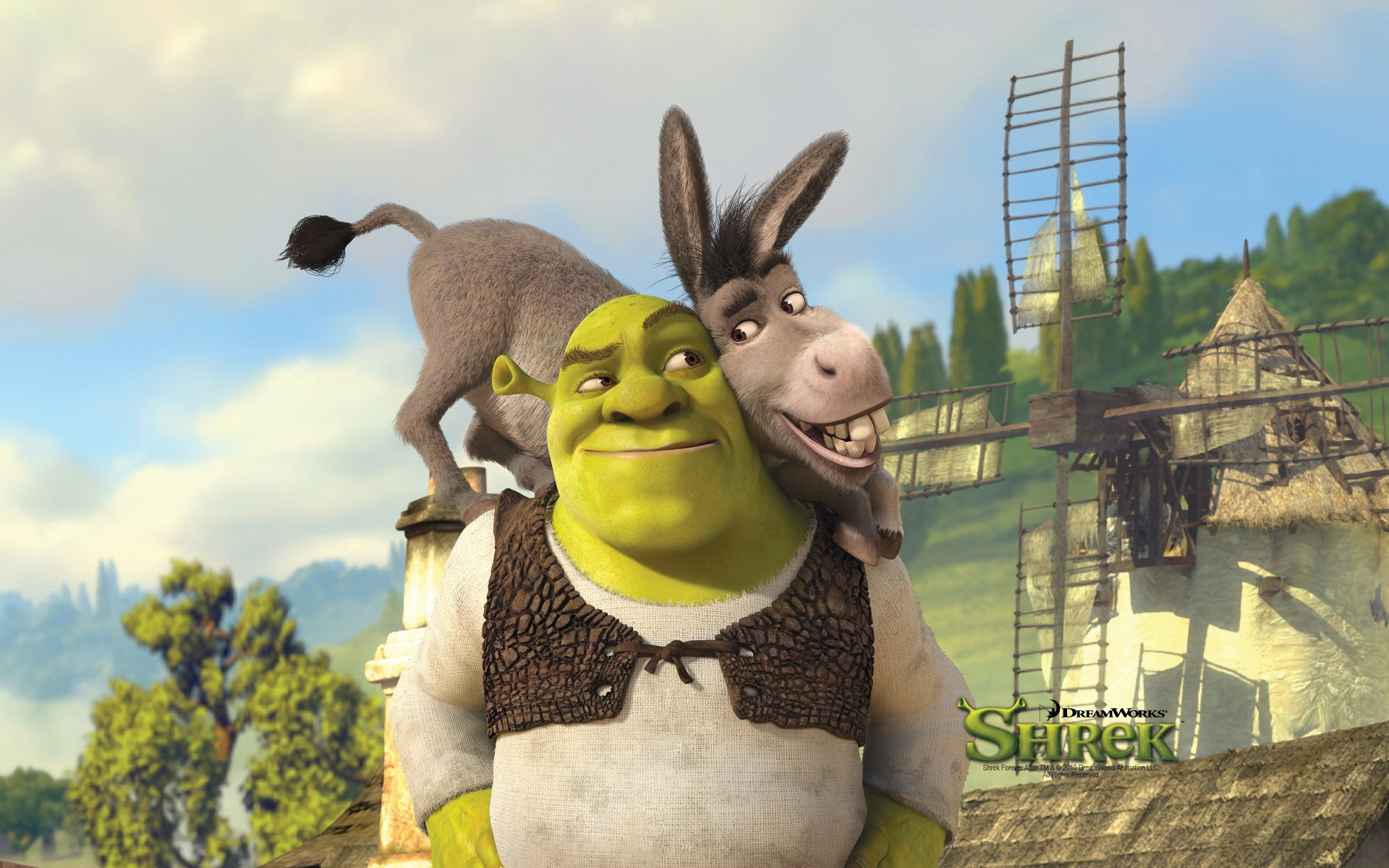 shrek donkey cartoon wallpapers keyword