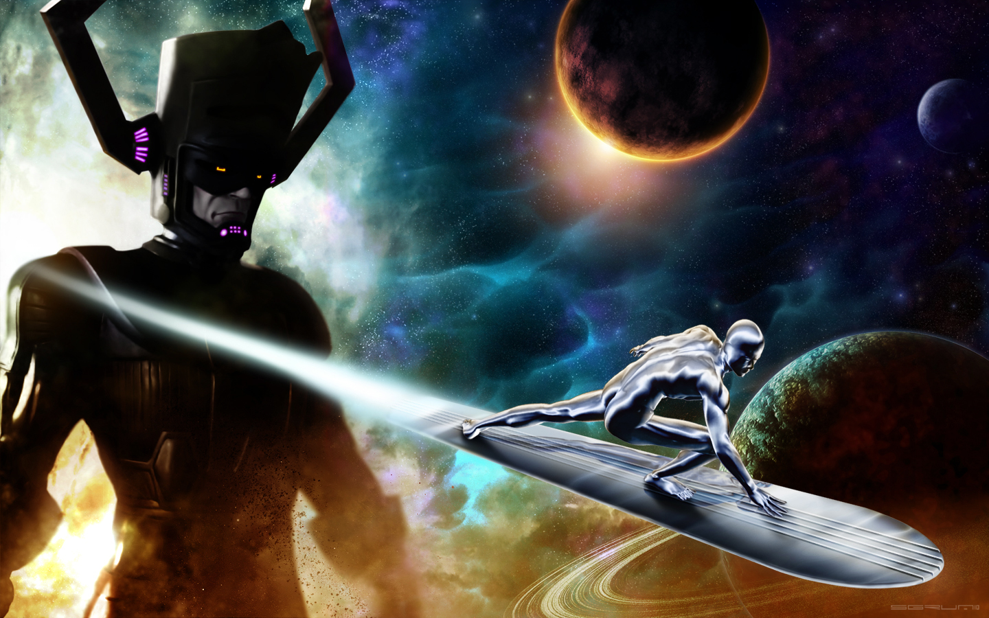 HD Wallpaper | Background ID:327664. 1440x900 Comics Silver Surfer