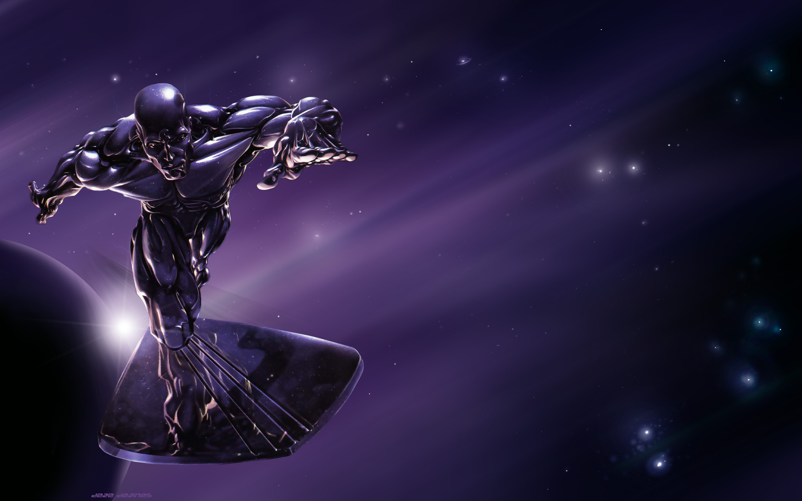 HD Wallpaper | Background ID:398814. 2560x1600 Comics Silver Surfer