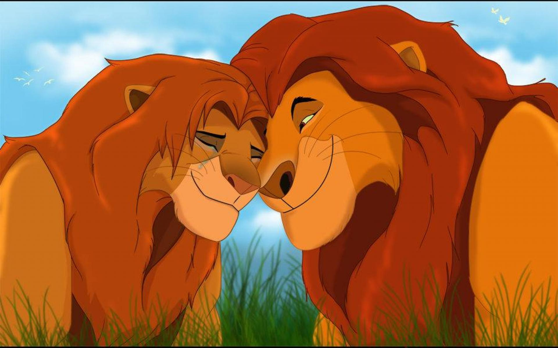 Wallpaper Tags: and simba king the lion