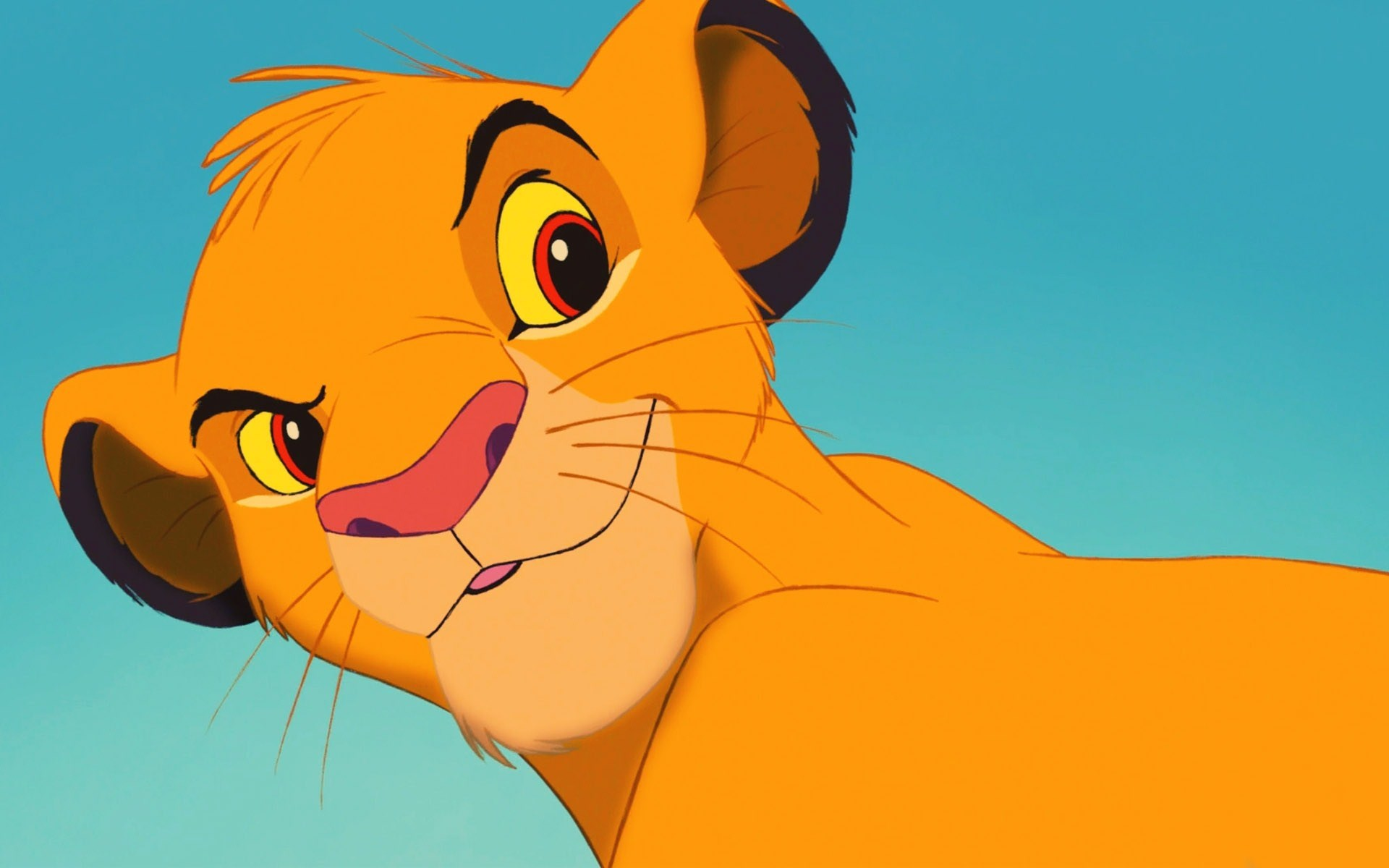 Simba The Lion King Animated Cartoon
