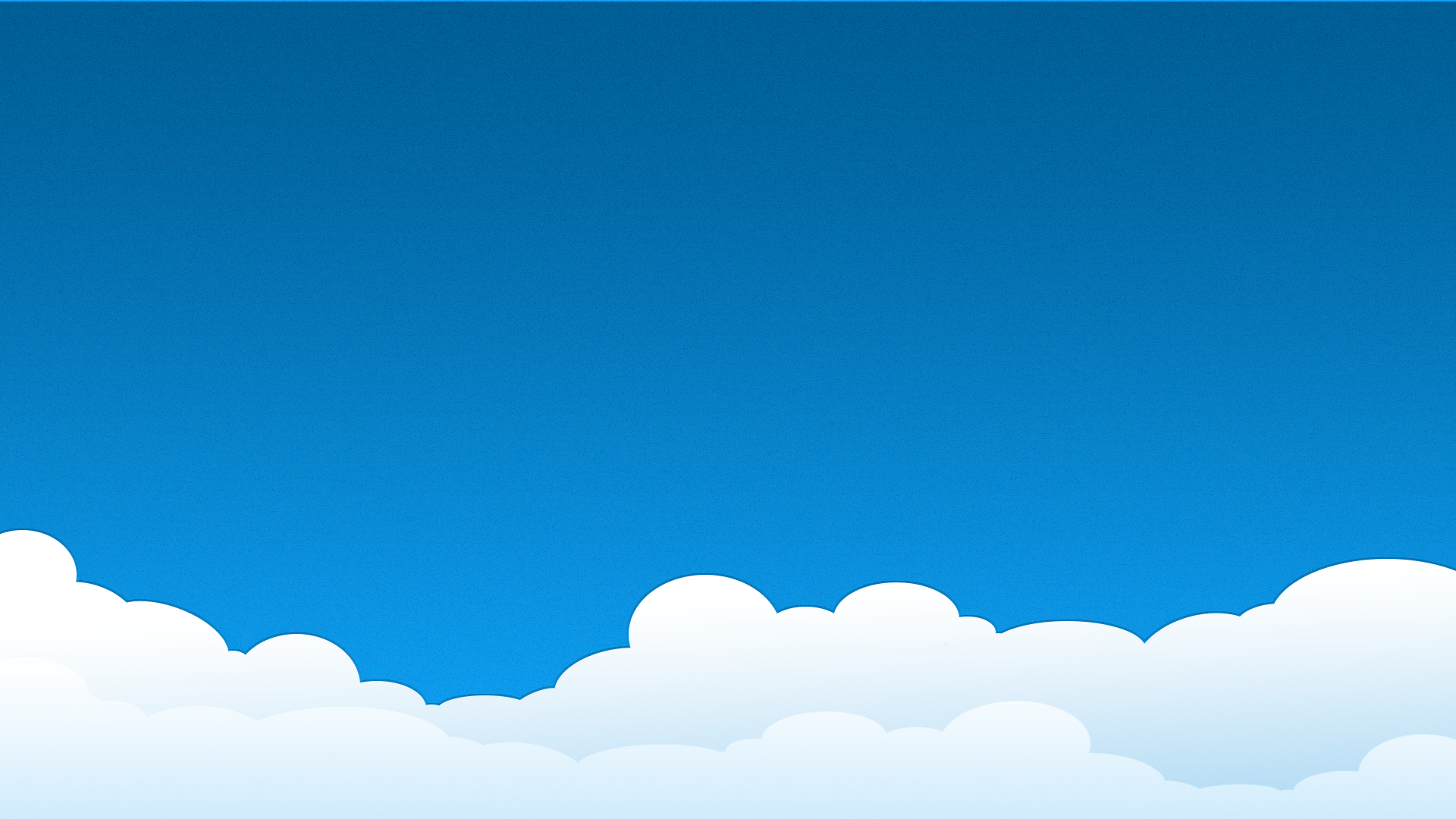 Simple Cloud Wallpaper