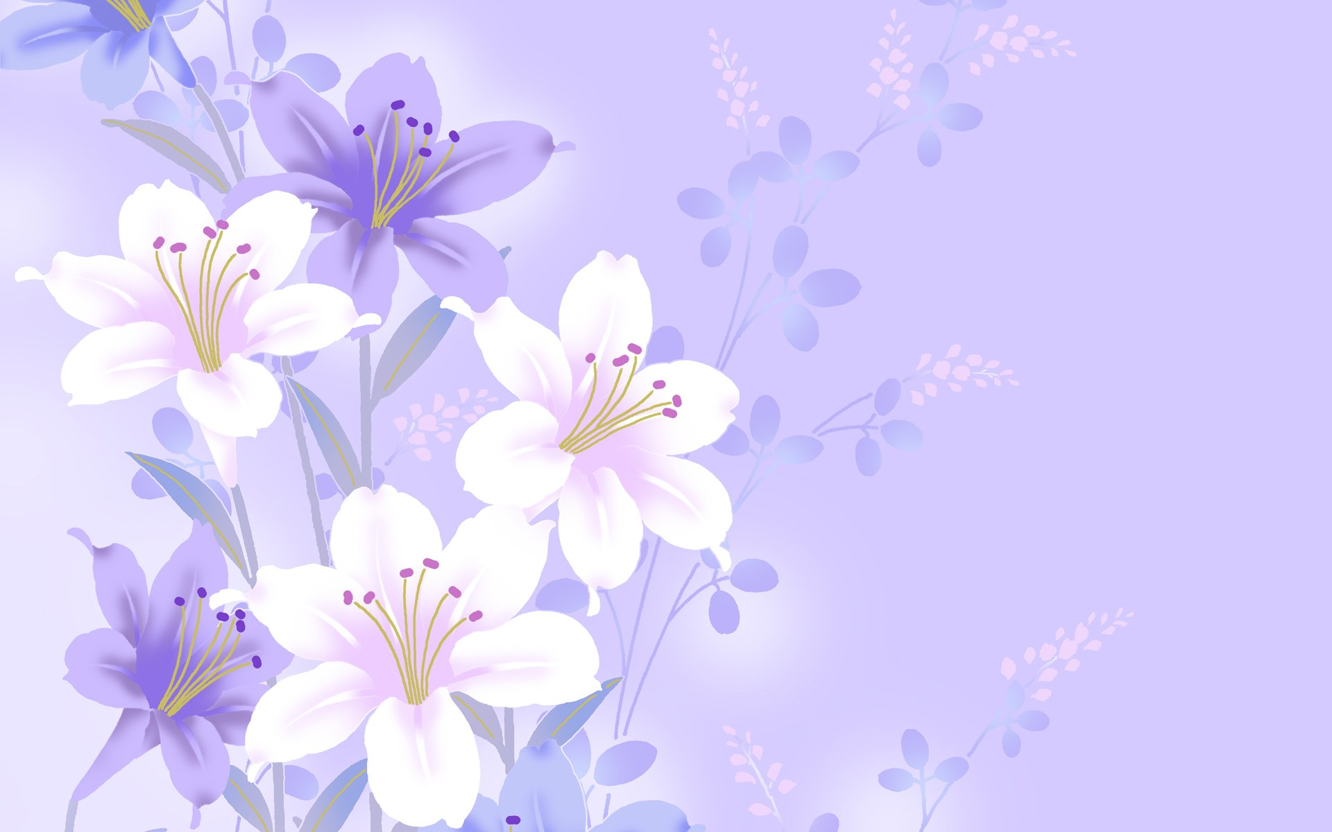 Simple Flower Wallpaper 14297