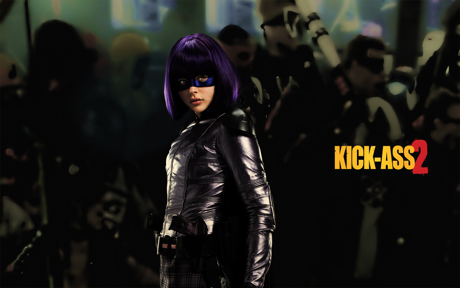 Simple Hit Girl Wallpaper
