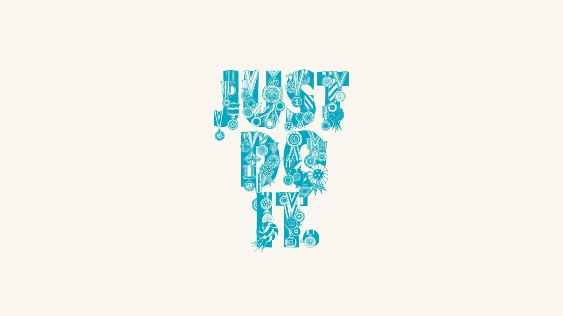 Simple Just Do It Wallpaper
