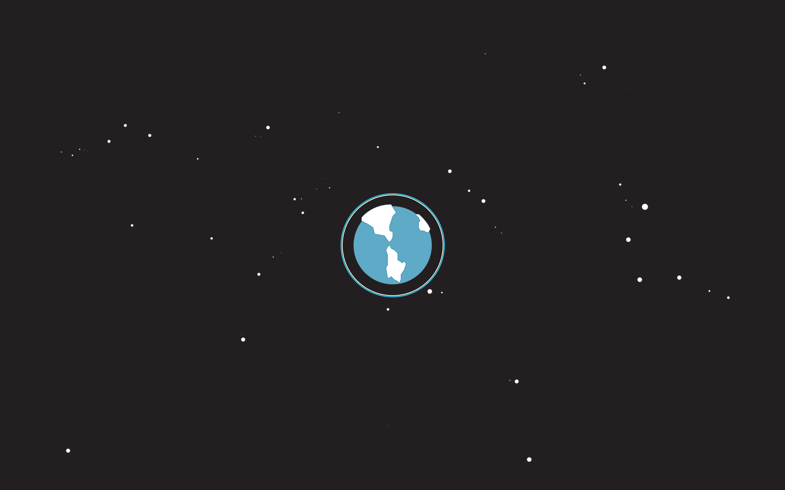 Simple Space Wallpaper