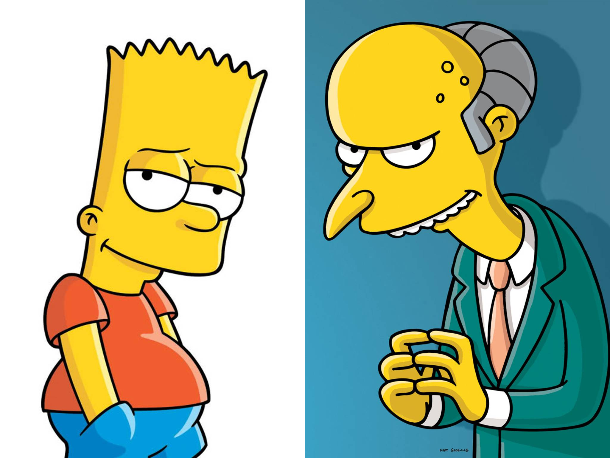 The Simpsons Bart vs. Mr. Burns · ""