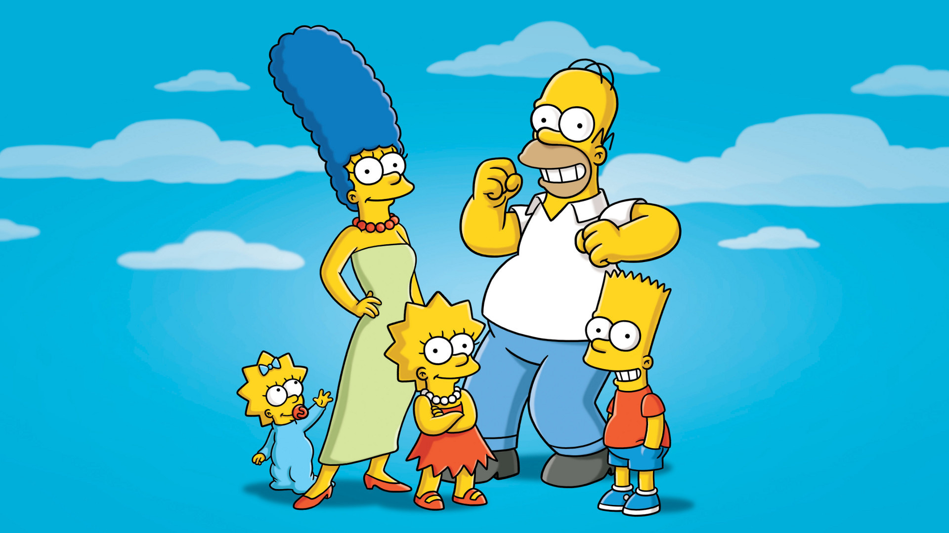 "Download the following The Simpsons Wallpaper HD 2025 by clicking the button positioned underneath the ""Download Wallpaper"" section."