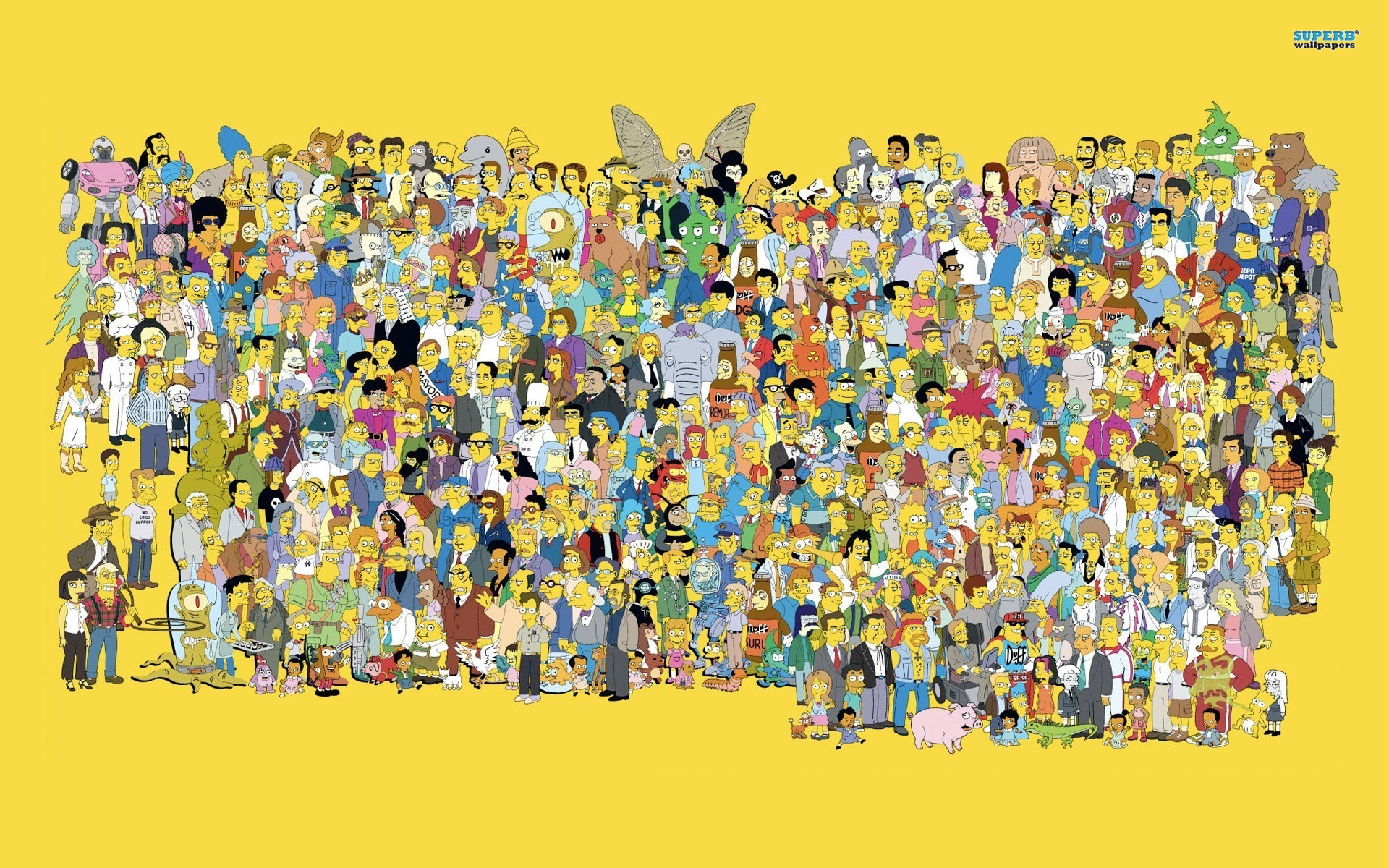 The Simpsons wallpaper 1920x1200 jpg
