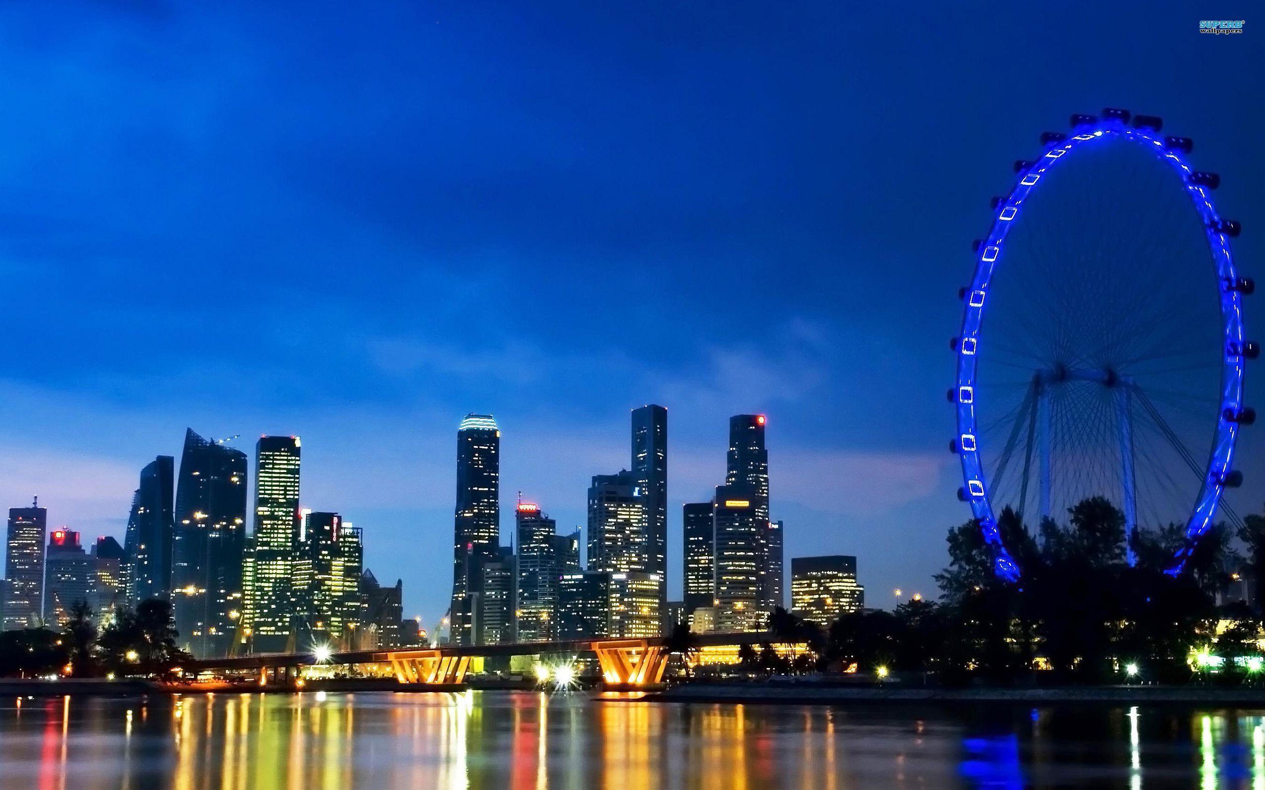 Singapore wallpaper 2560x1600 jpg