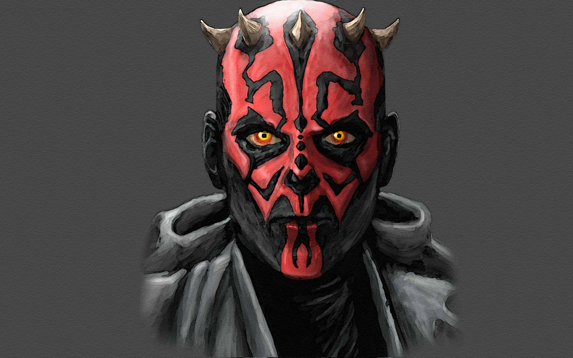star wars Sith Darth Maul movies wallpaper background