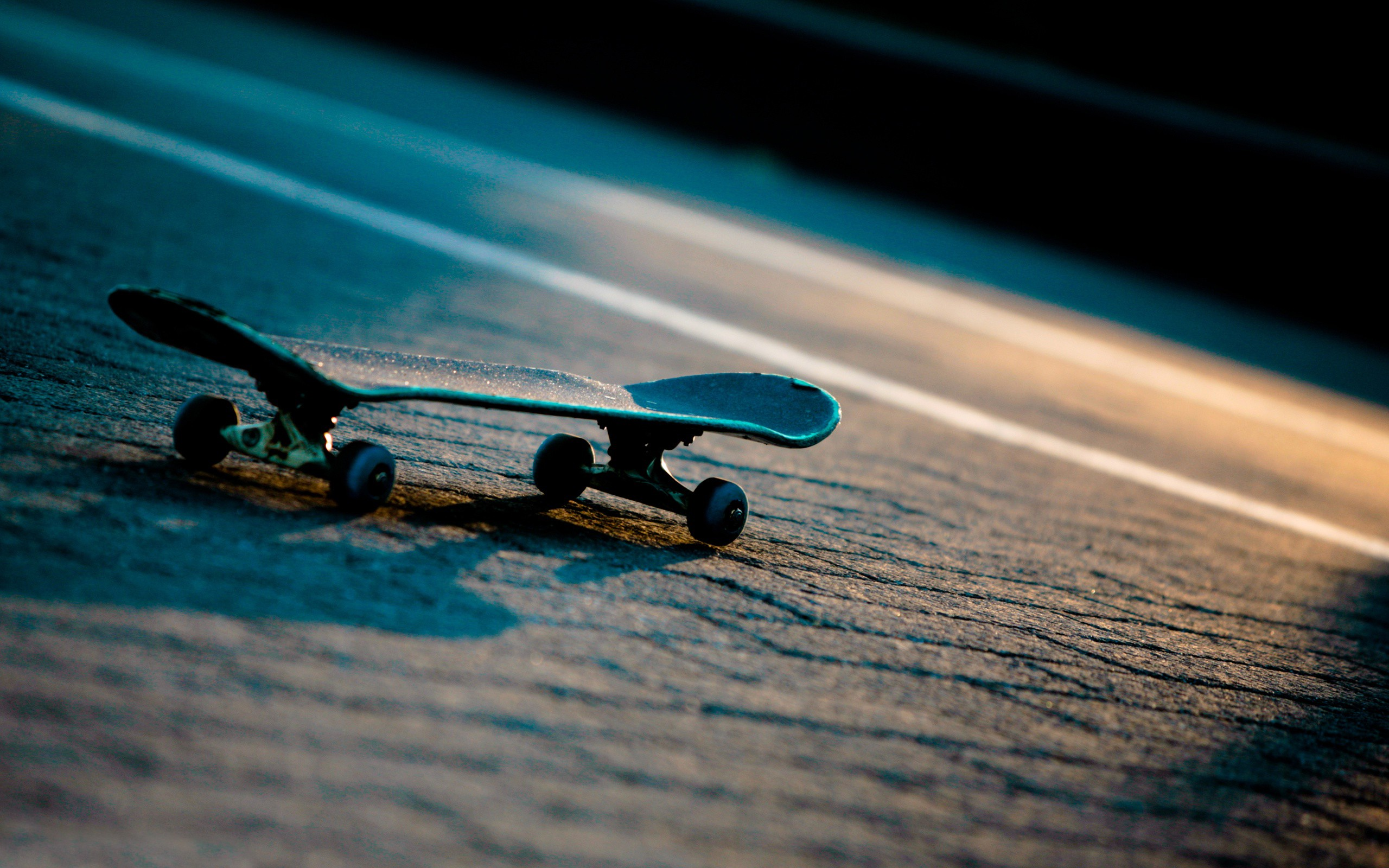 Skateboard Sunset