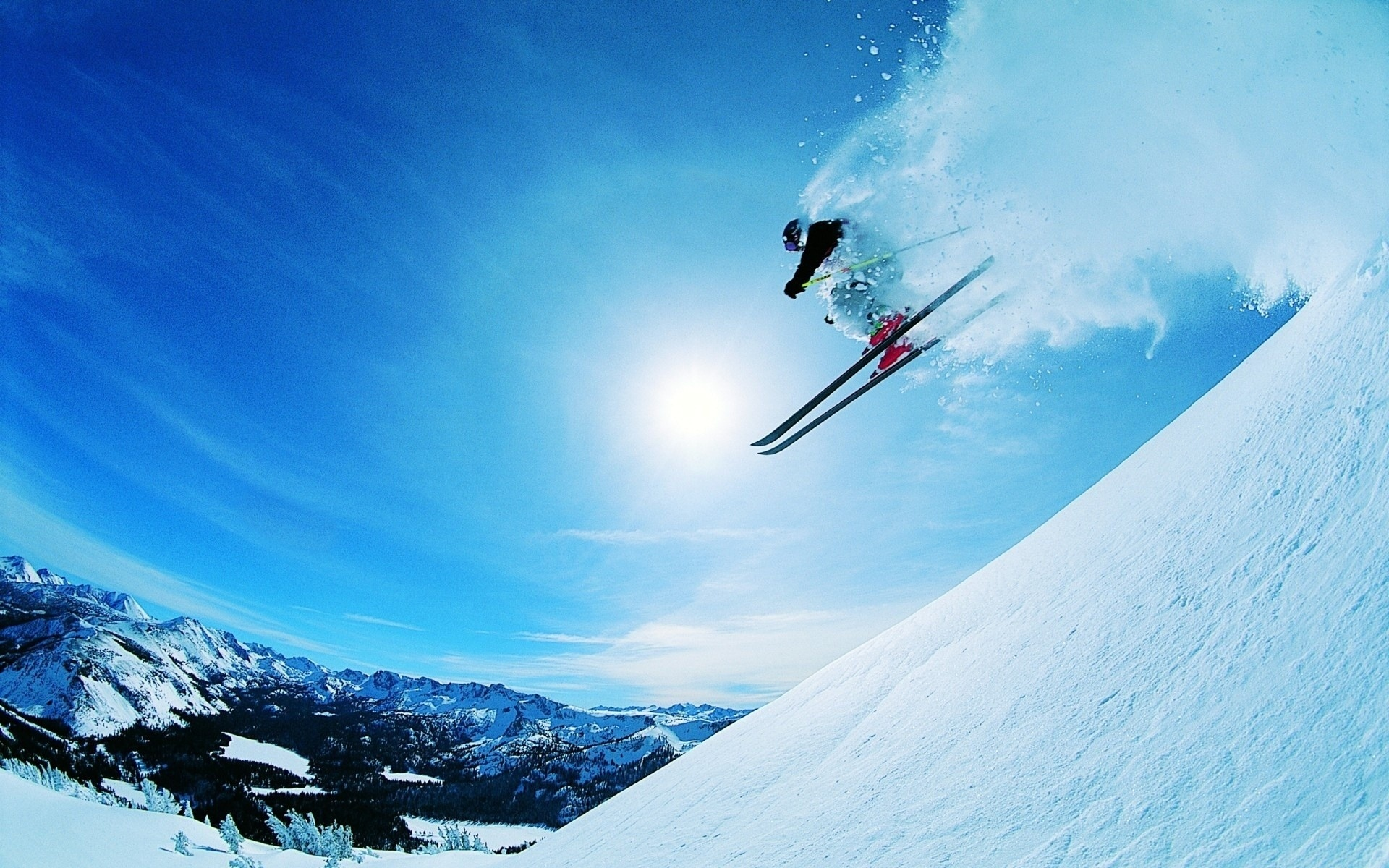 HD Wallpaper | Background ID:115262. 1920x1200 Sports Skiing