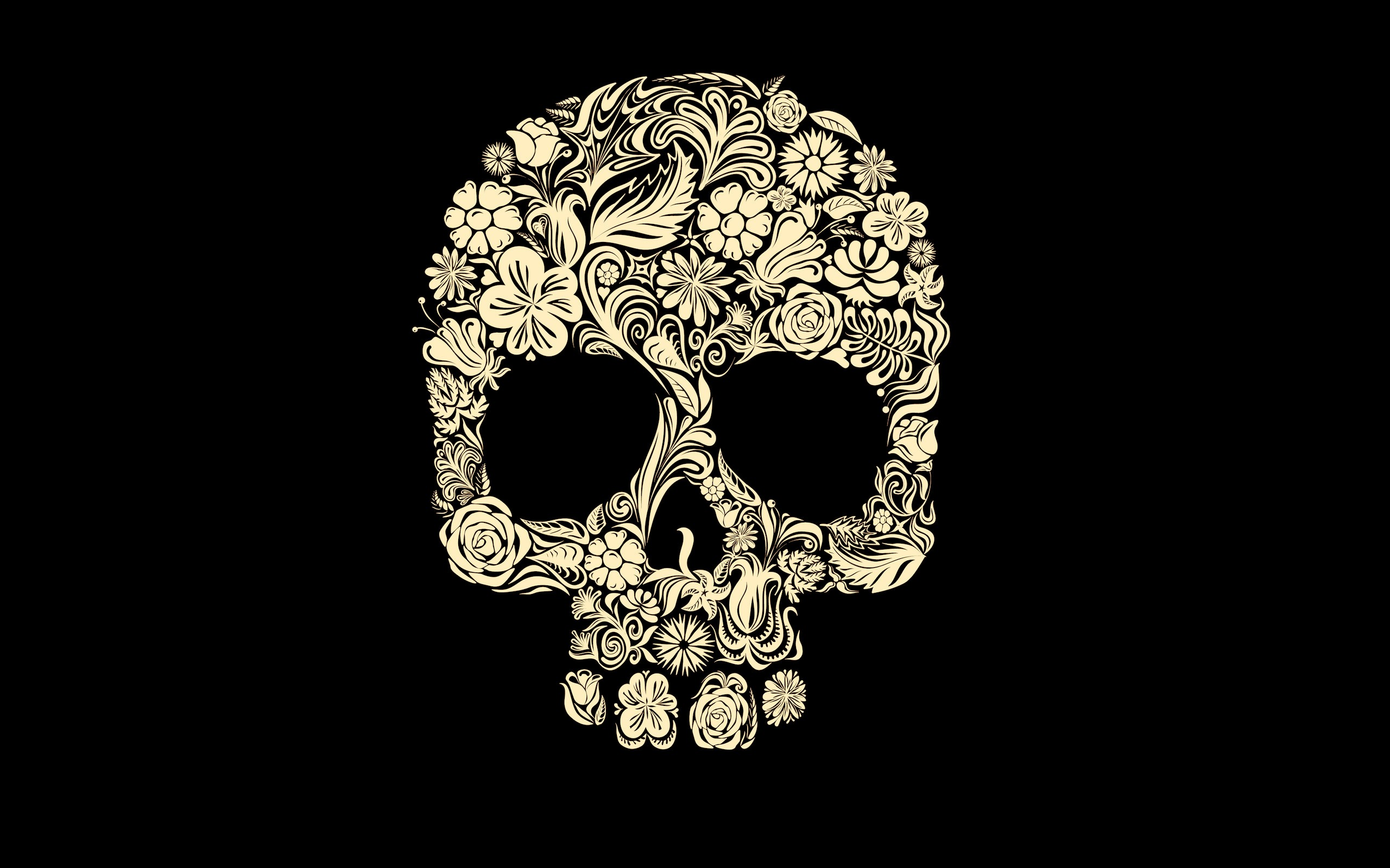 Dark - Skull Wallpaper