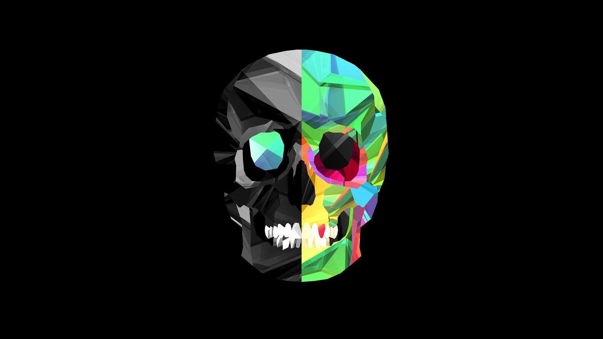 ... Skull HD Wallpaper 1080p ...