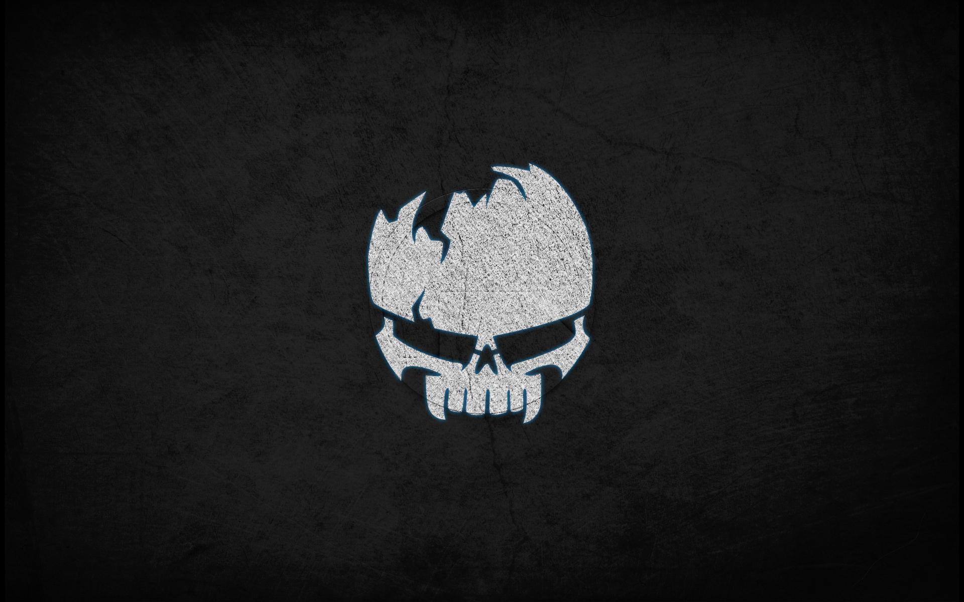 Scary Skull Wallpaper