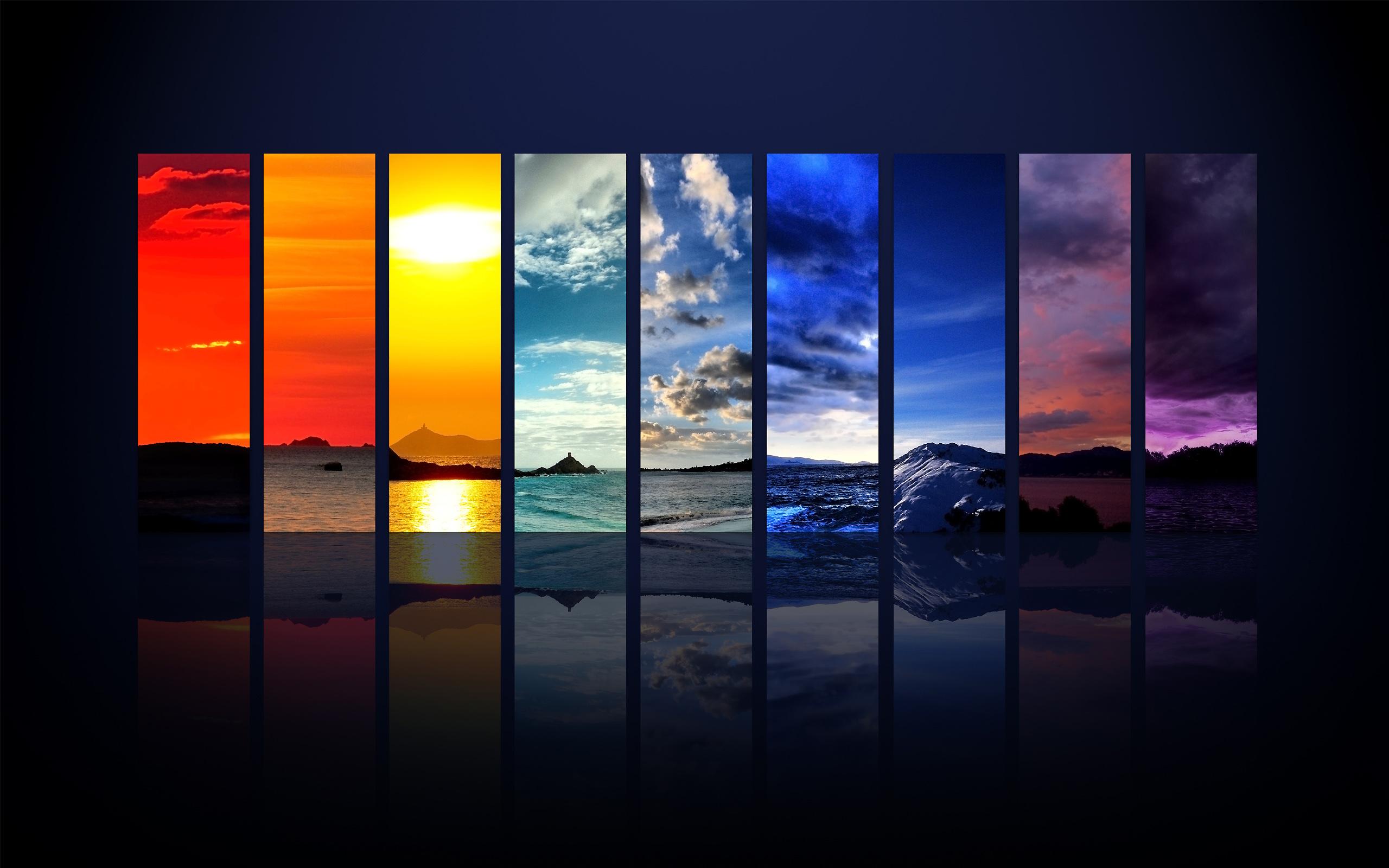 Sky Spectrum Wallpaper