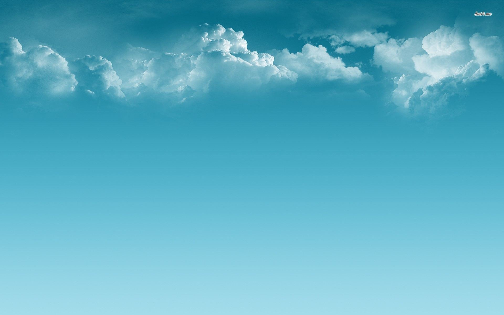 ... Clouds and blue sky wallpaper 1920x1200 ...