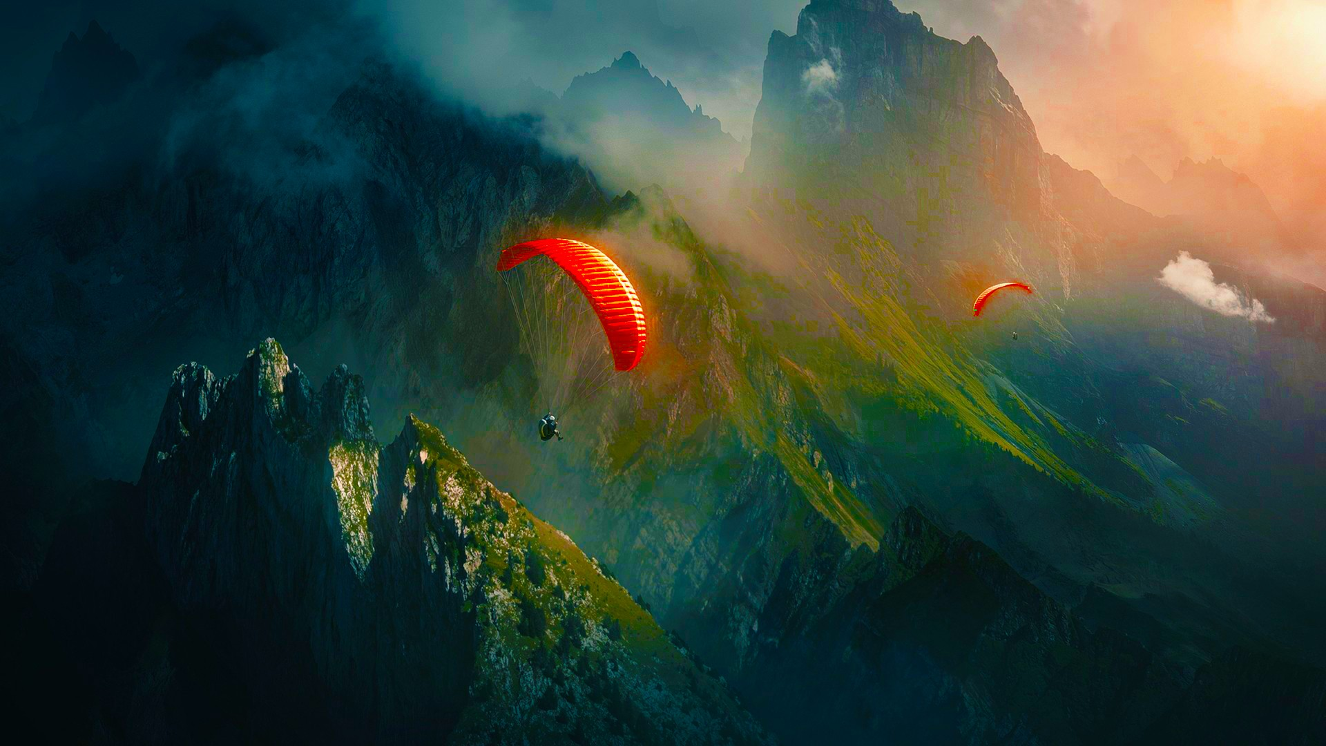 Skydive Art Wallpaper