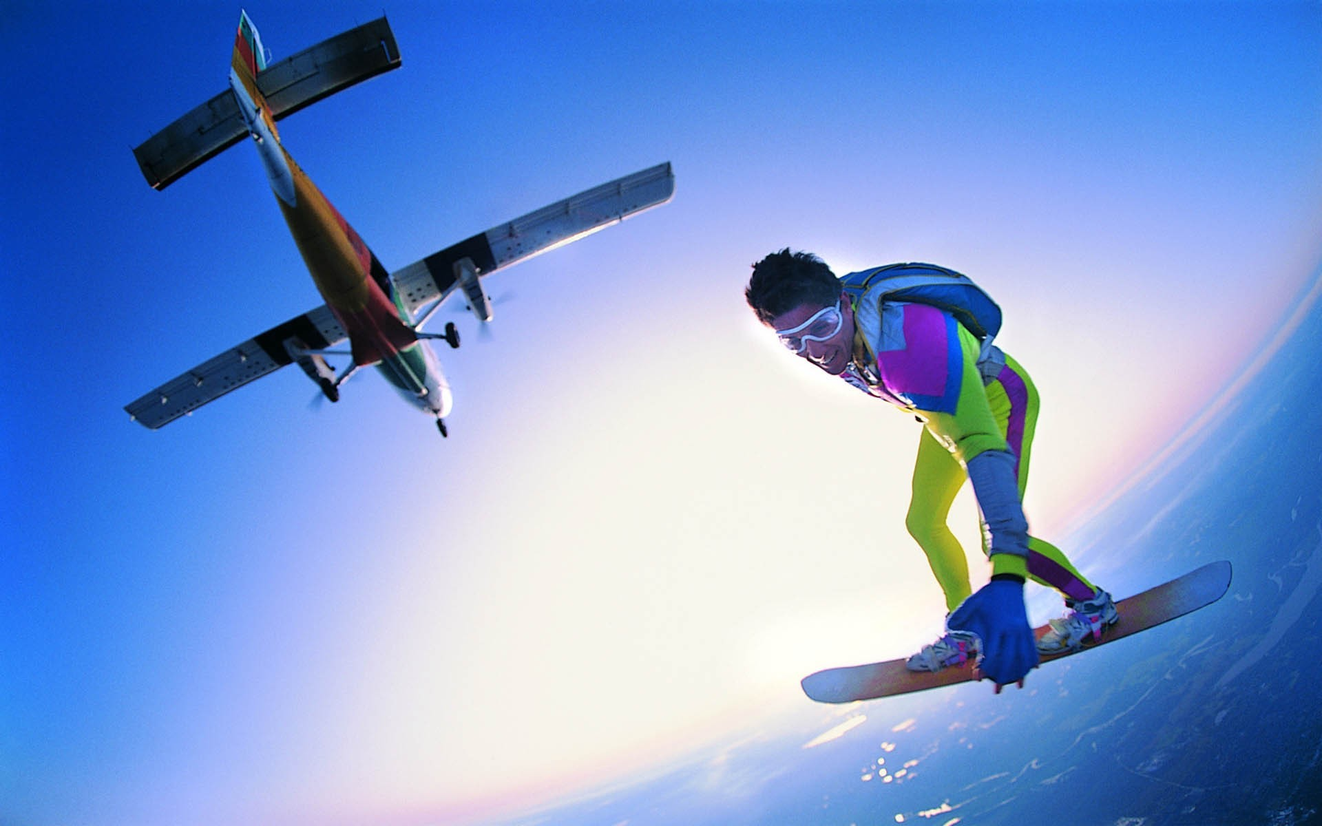 Download Skydiving wallpaper (1920x1200)