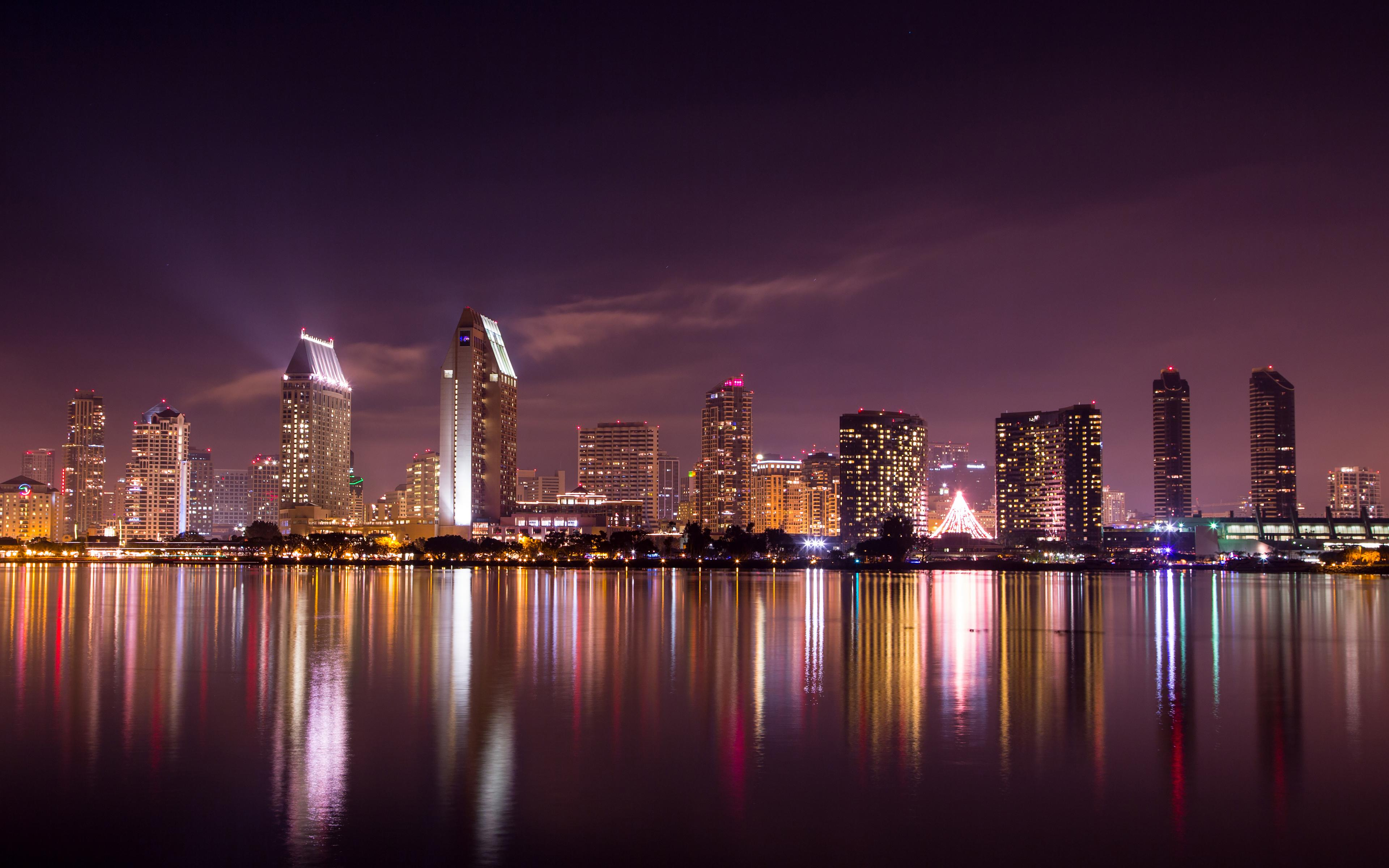 San Diego Skyline Wallpaper #52725 - Resolution 3840x2400 px