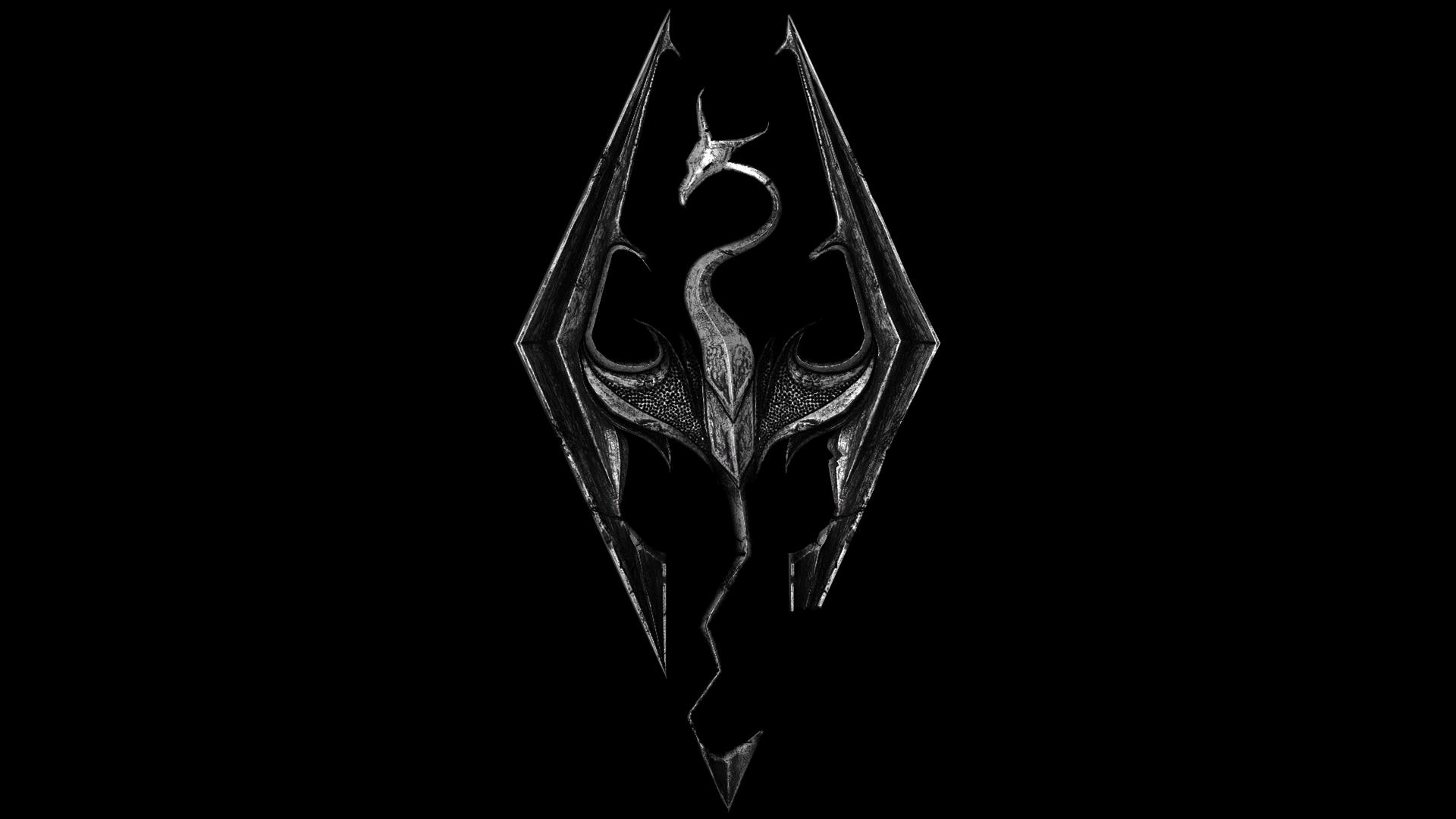Skyrim emblem render hd logo 1080p games 1024x768
