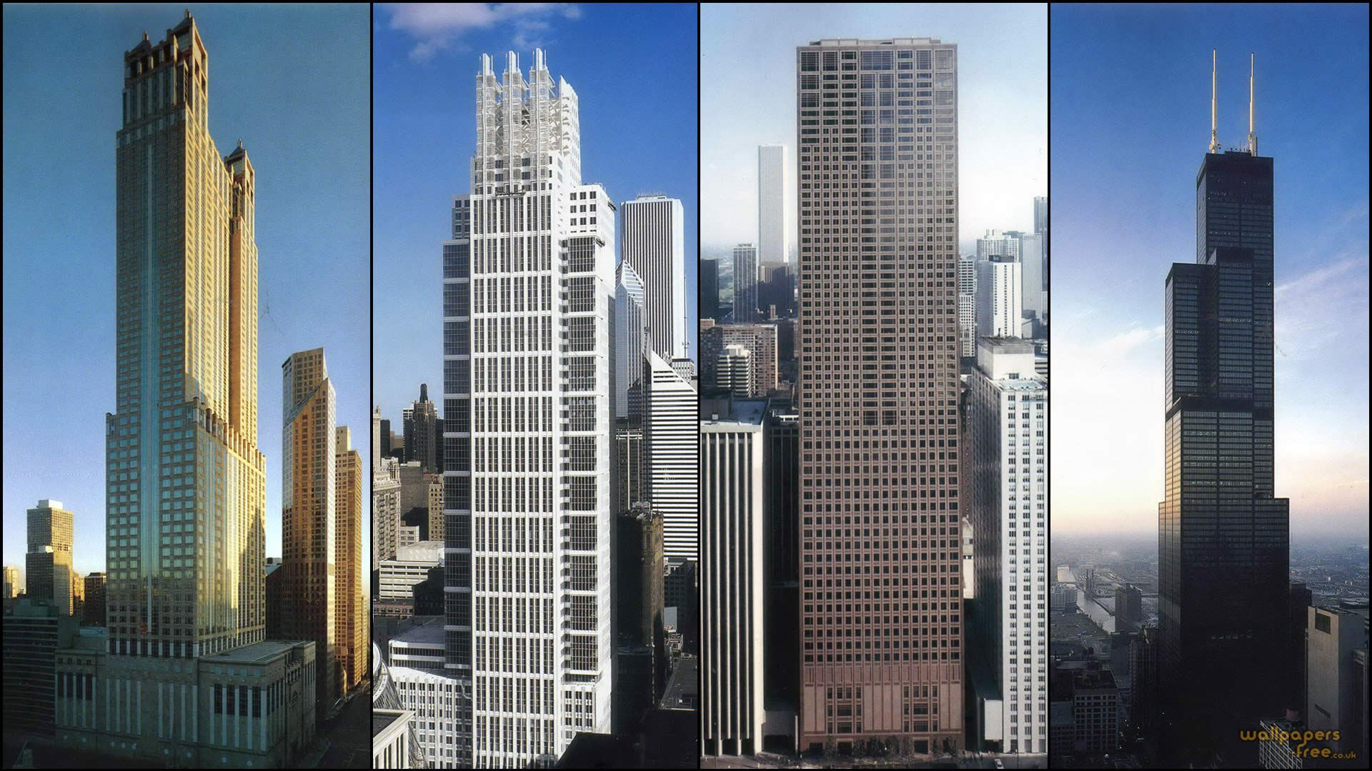 Skyscrapers in Chicago Pictures Tallest Chicago Skyscrapers