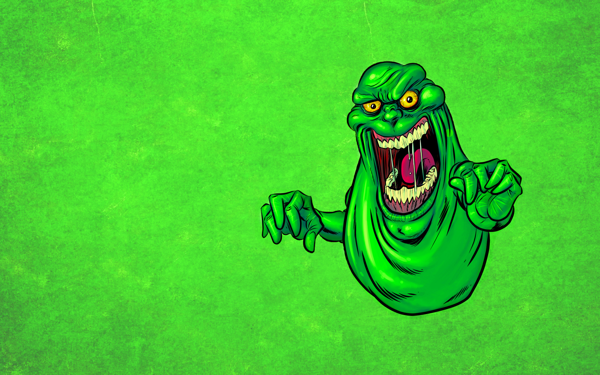 slimer ghostbusters wallpaper | 1920x1200 | #18263