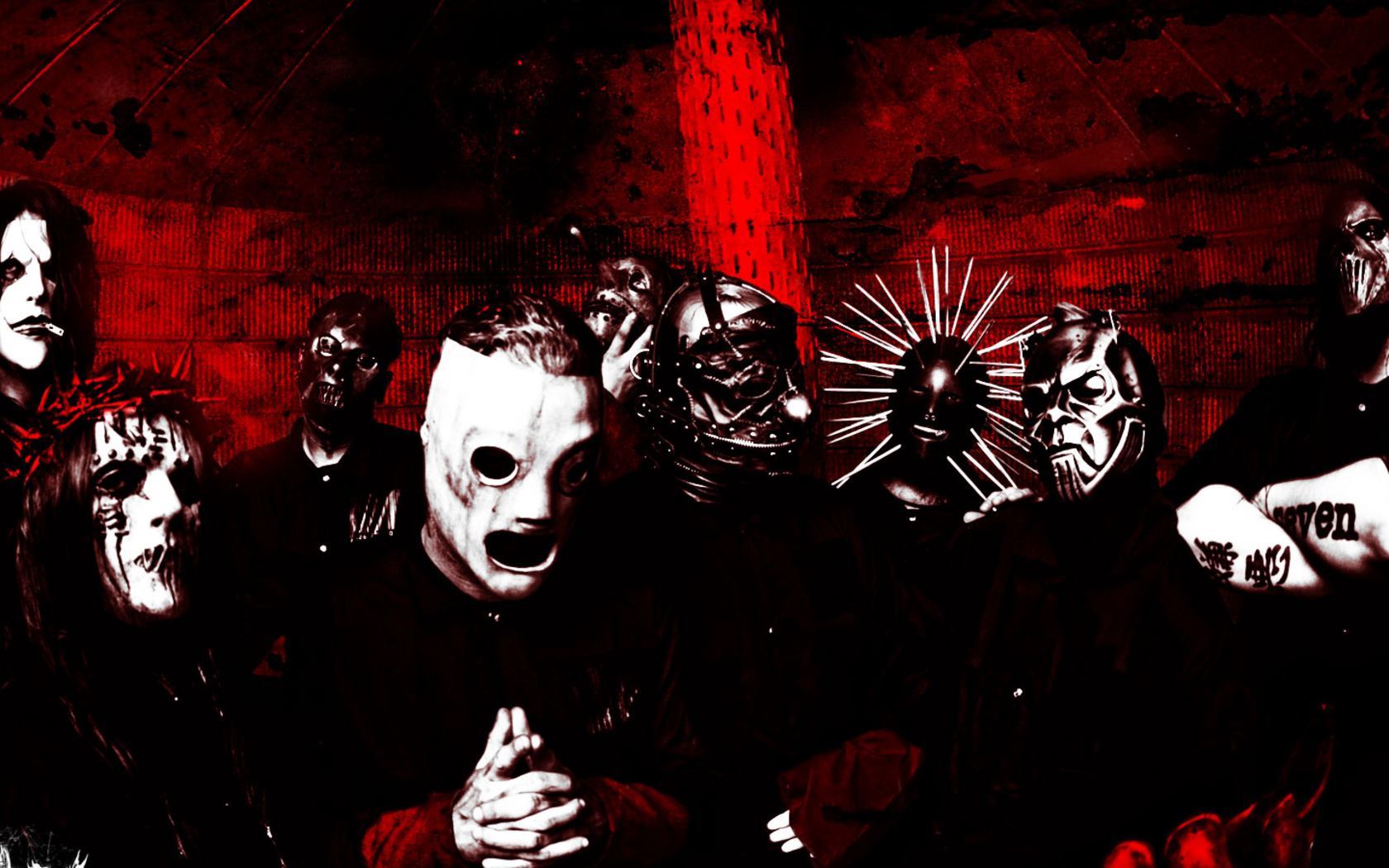HD Wallpaper | Background ID:348285. 1680x1050 Music Slipknot