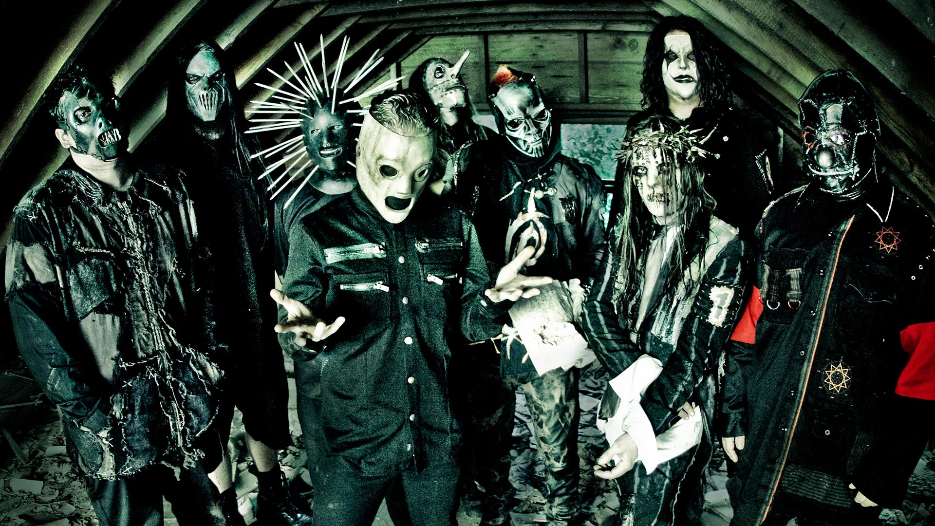 Slipknot Horror Masks