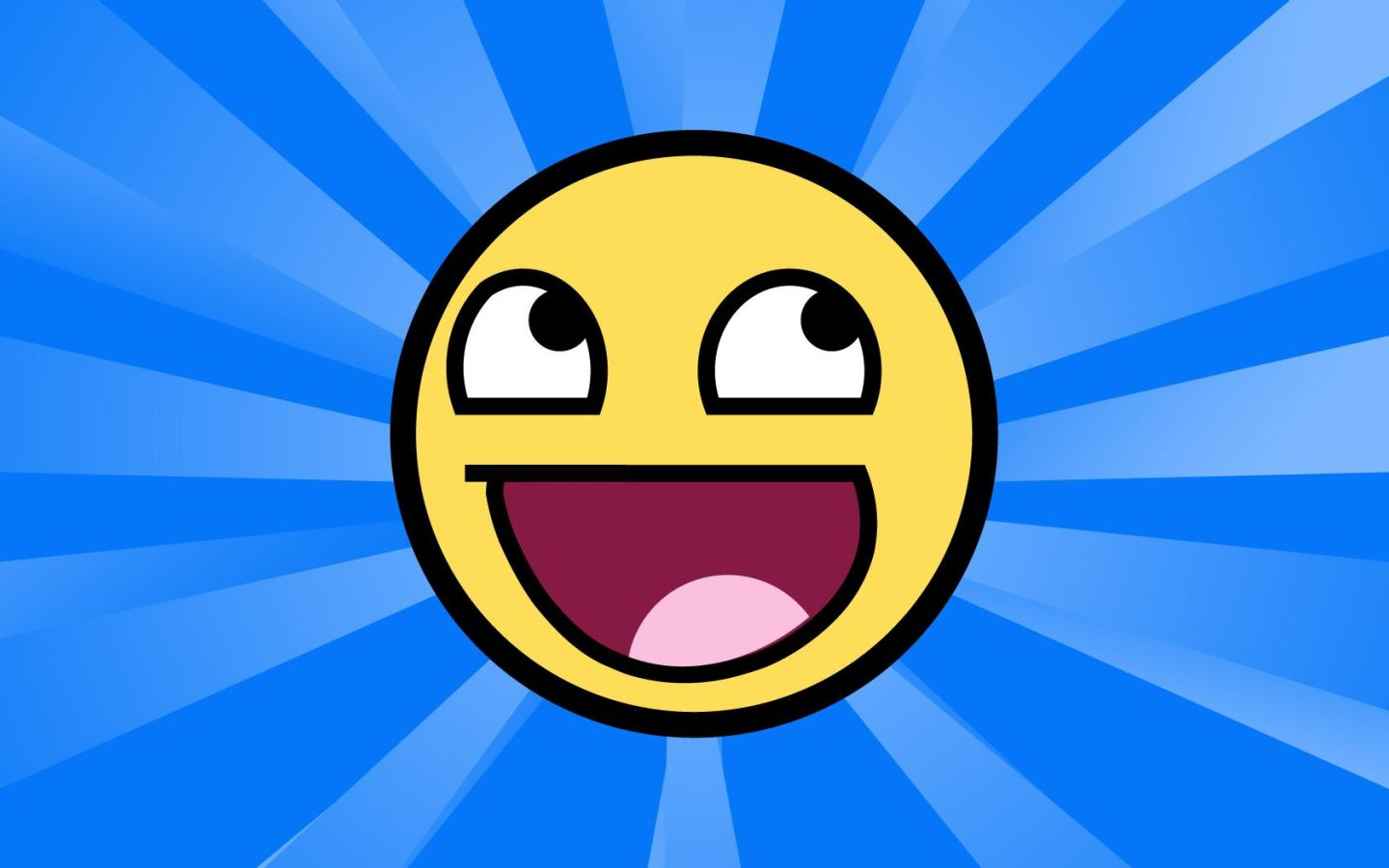 Free Widescreen Smiley Face Wallpaper Download