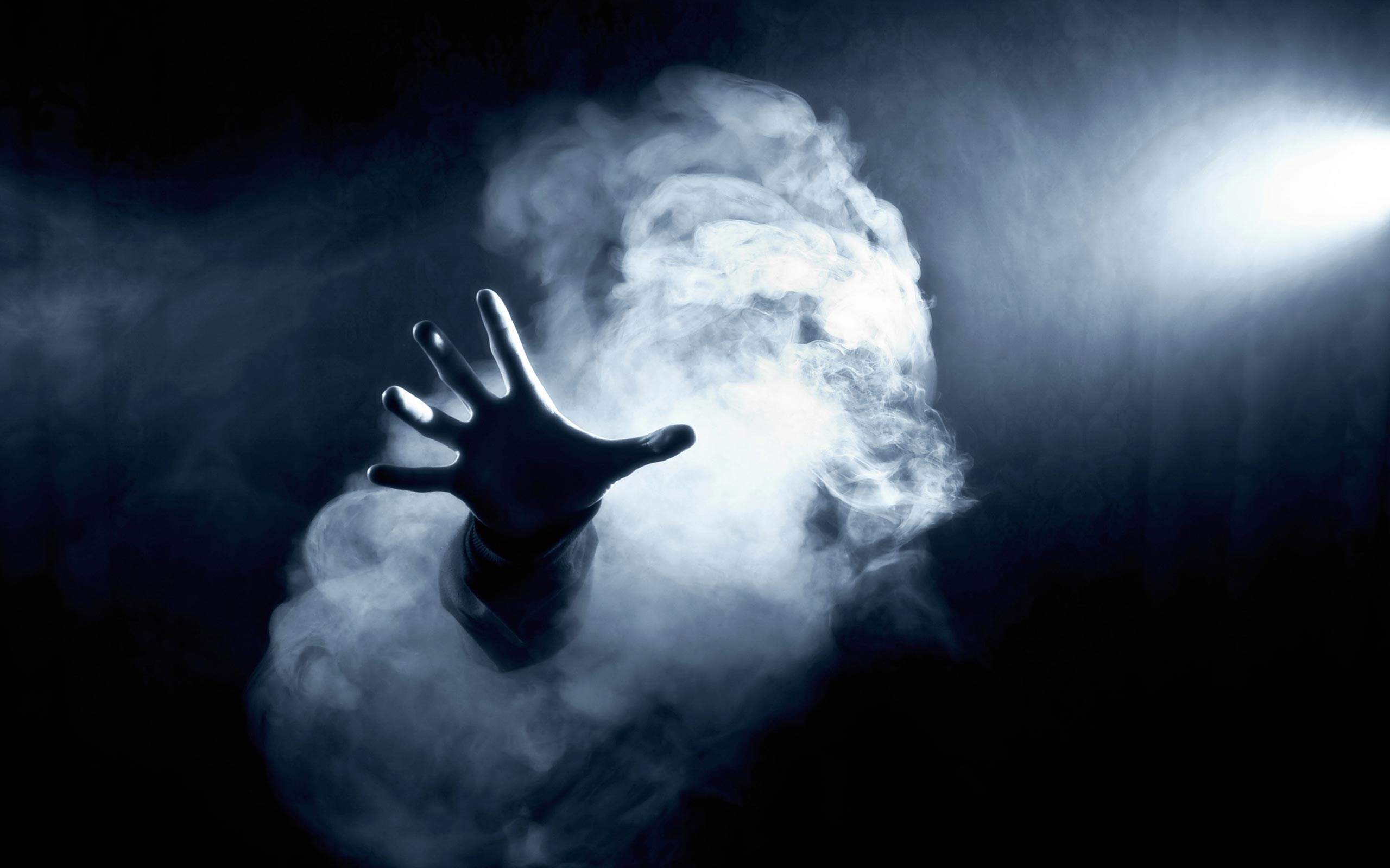 Smoke Black Hand Free Hd Wallpapers