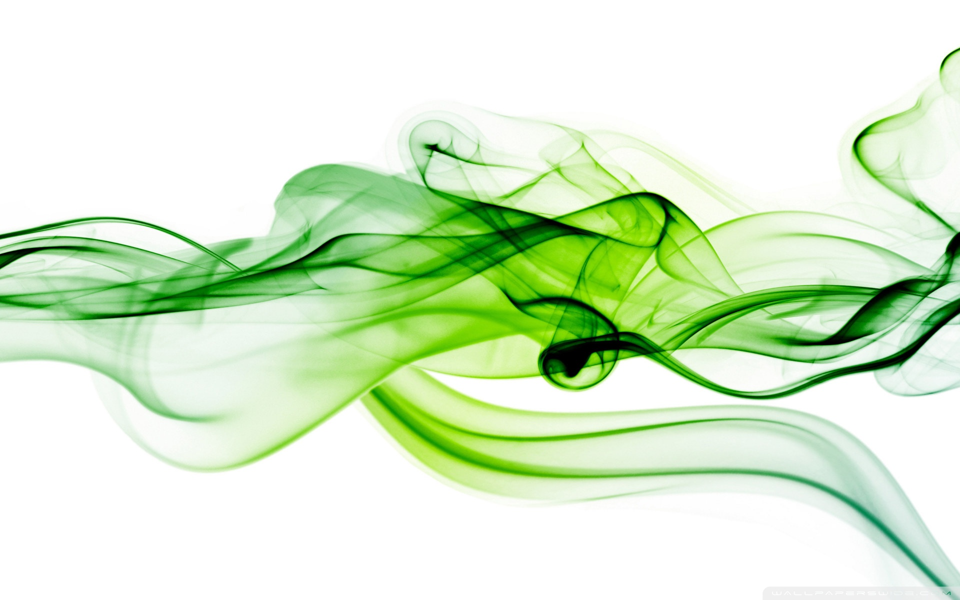 Green Smoke Background