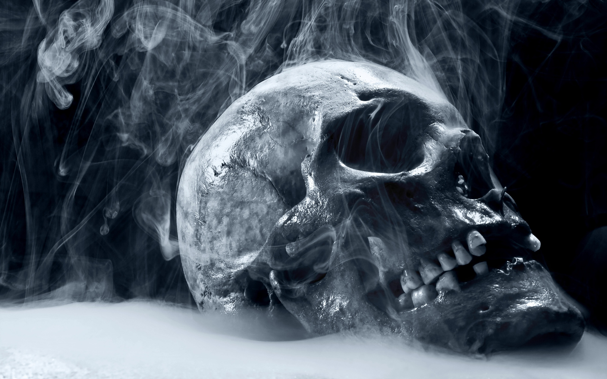 Lord Shiva Smoking: Smoke Skull Iphone Wallpapers 2560x1600px
