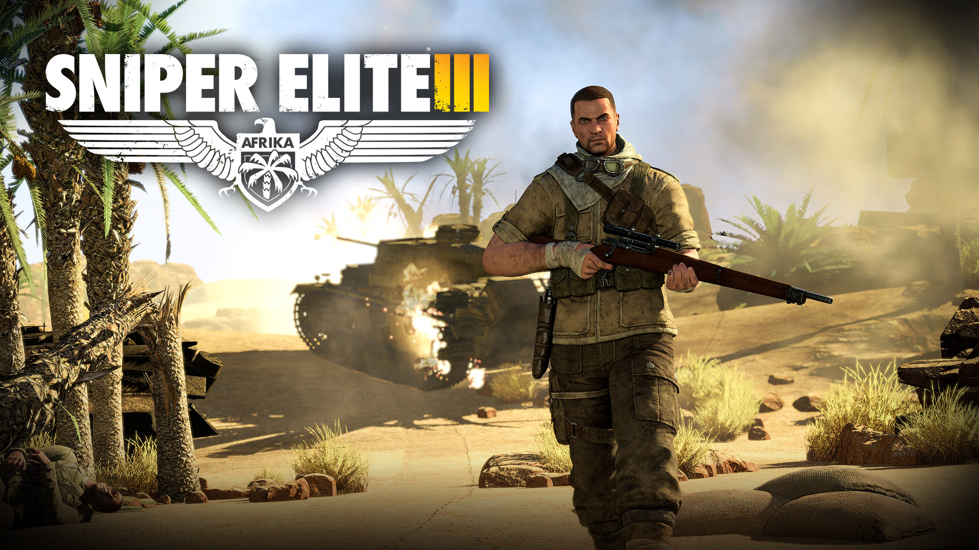 """Download the following Sniper Elite 3 Wallpaper 2713 by clicking the button positioned underneath the """"Download Wallpaper"""" section."""