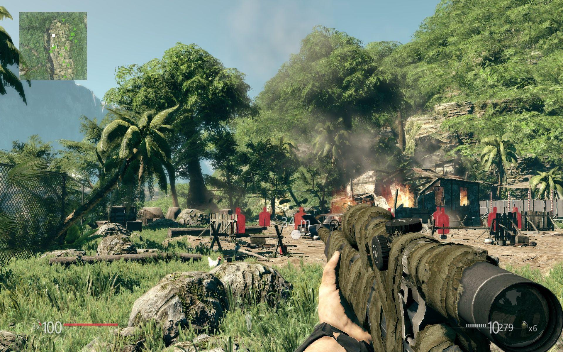 Sniper ghost warrior game