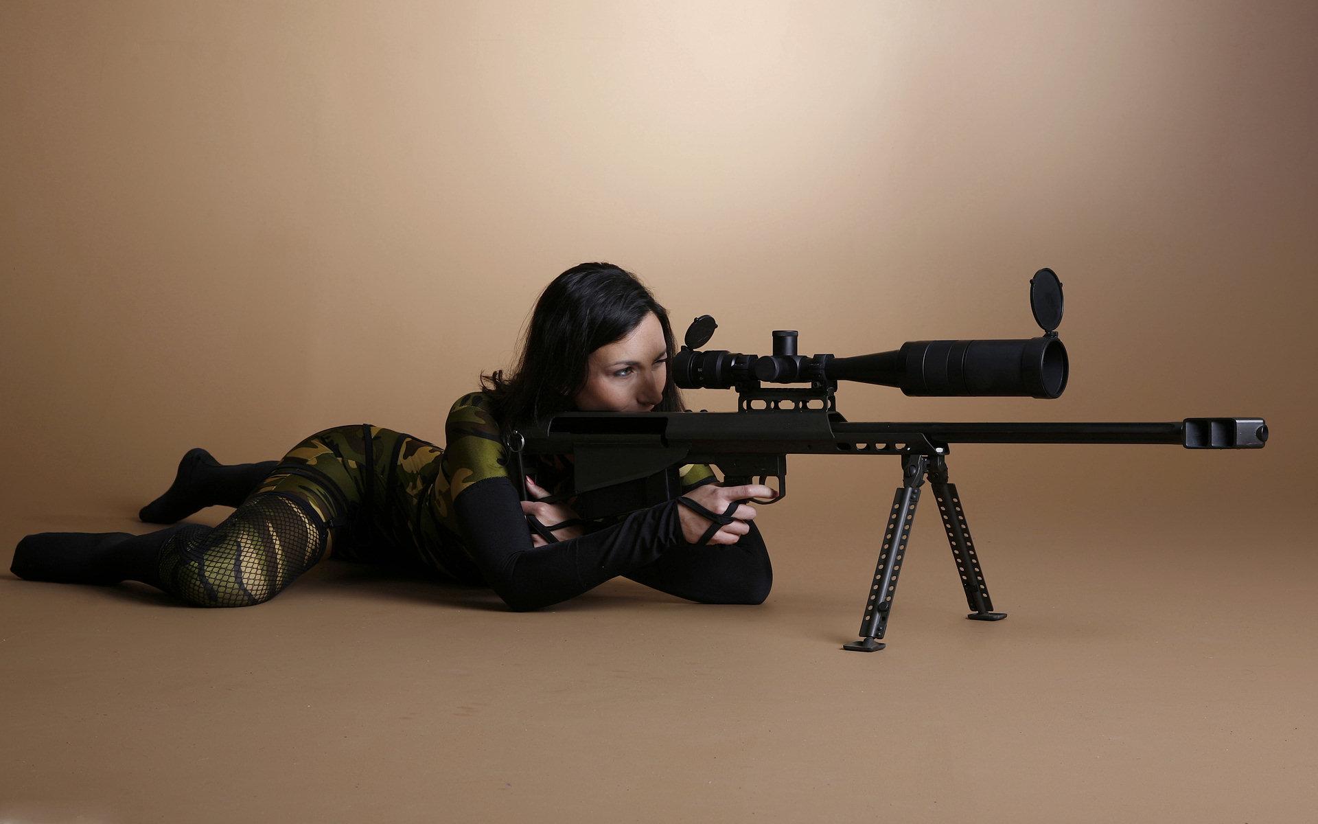 Girl Sniper Wallpaper