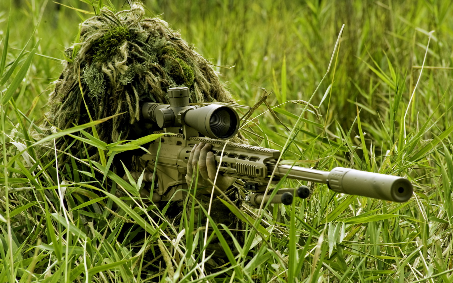 Soldiers Sniper rifle Snipers Army