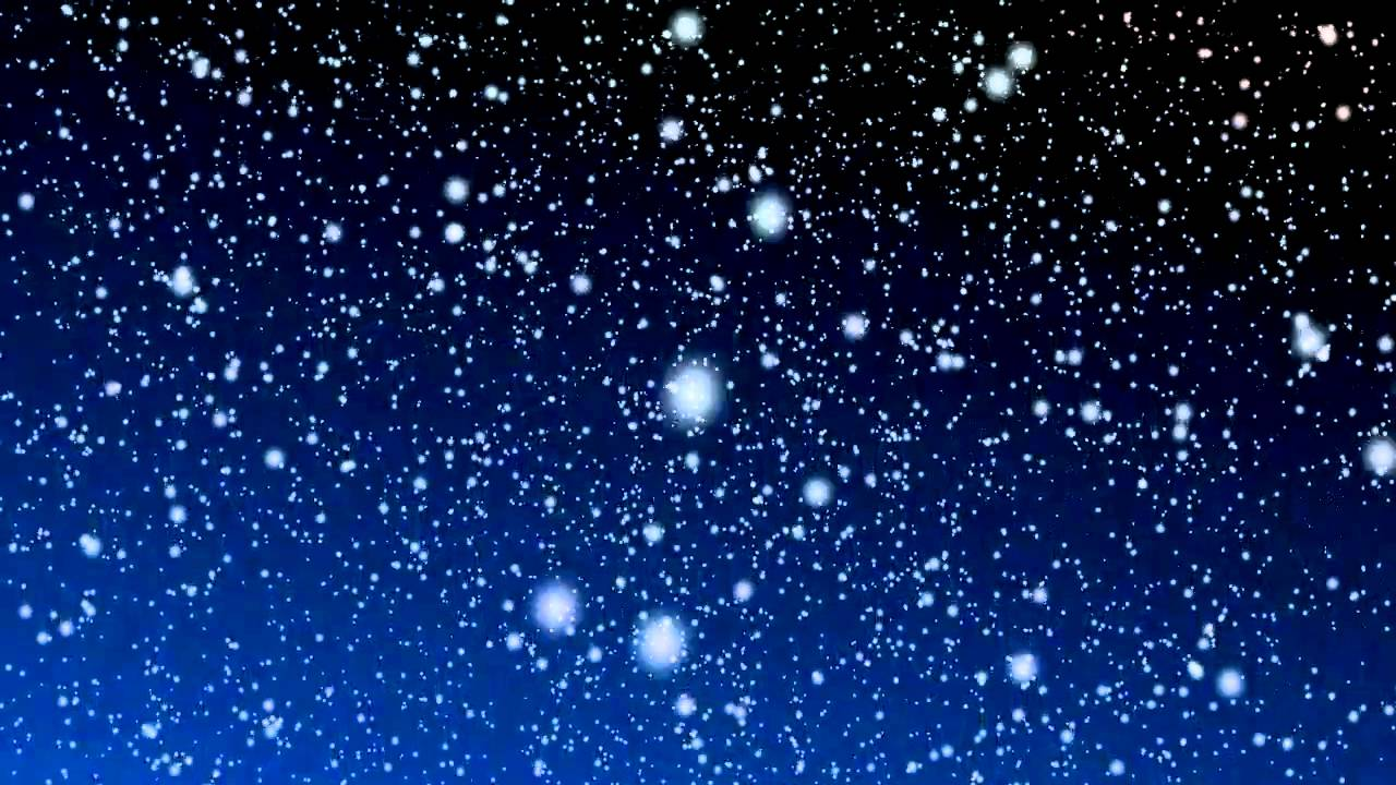 Free Snowy Night Motion Background